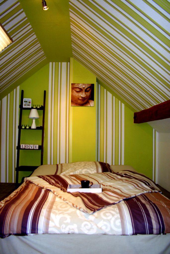 Schlafzimmer Nachher #schlafzimmerwandgestaltung ©Wohnausstatter
