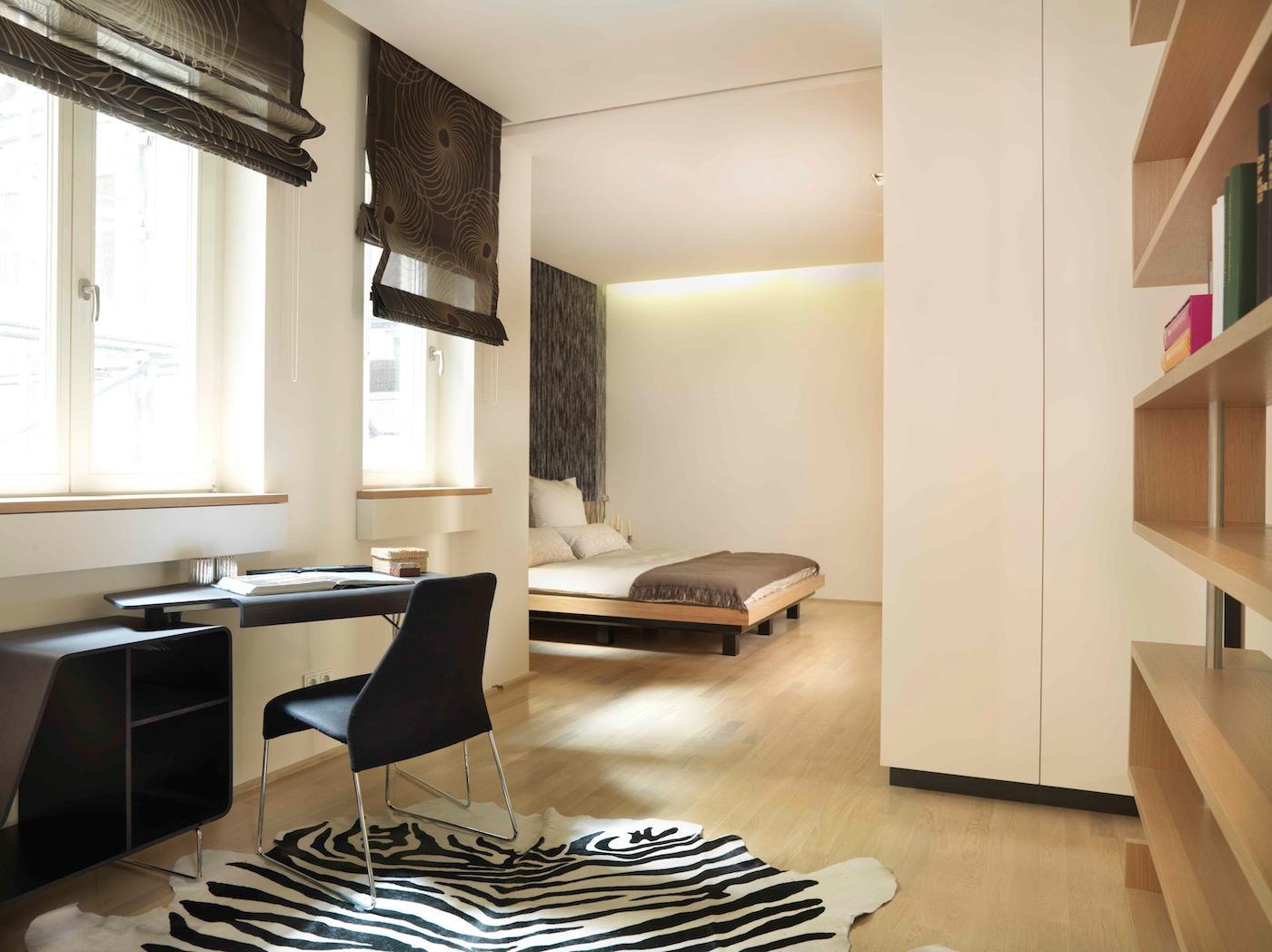 Schlafzimmer #schreibtisch #loft ©innenrachitektur-r...