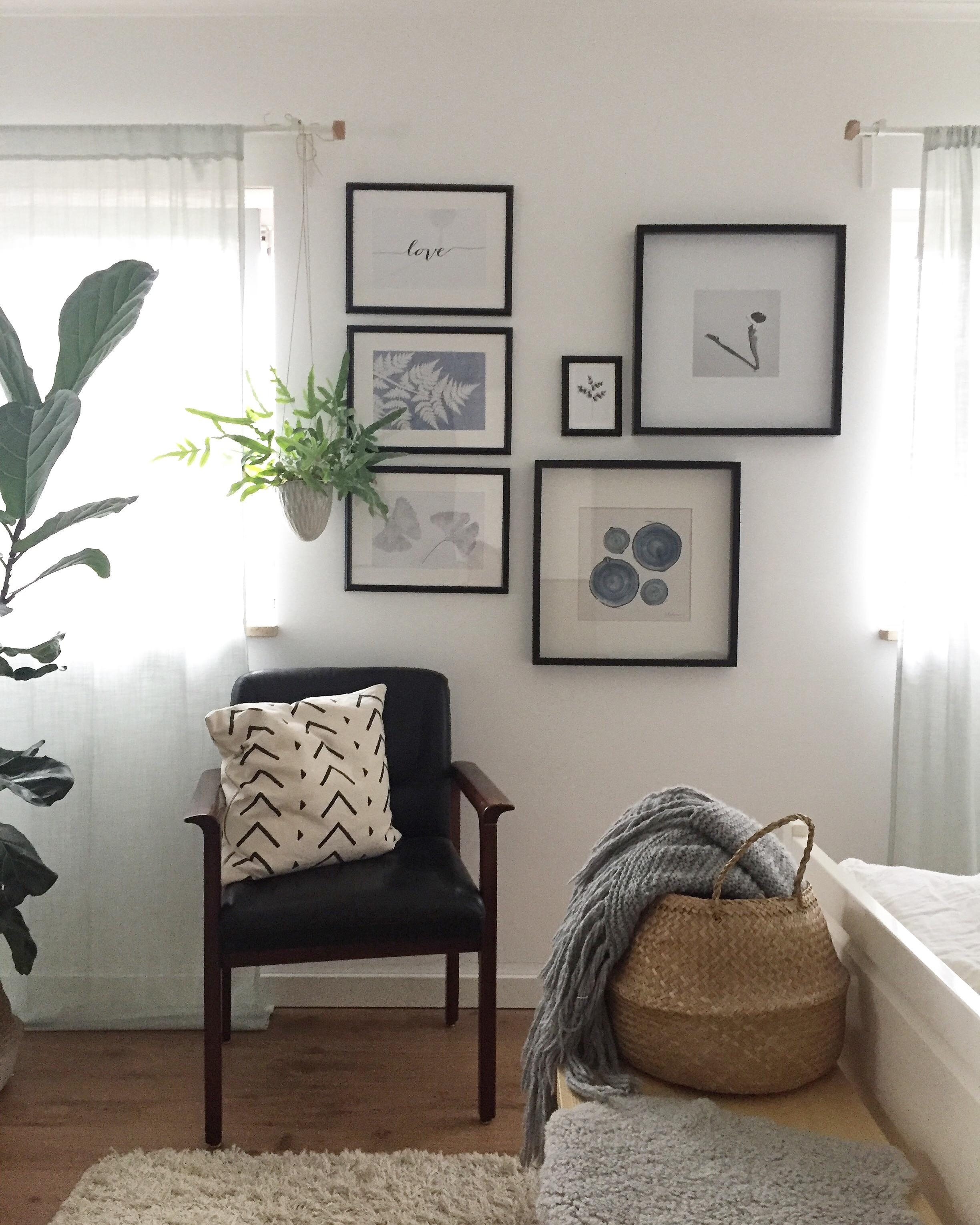 Schlafzimmereinblick... 