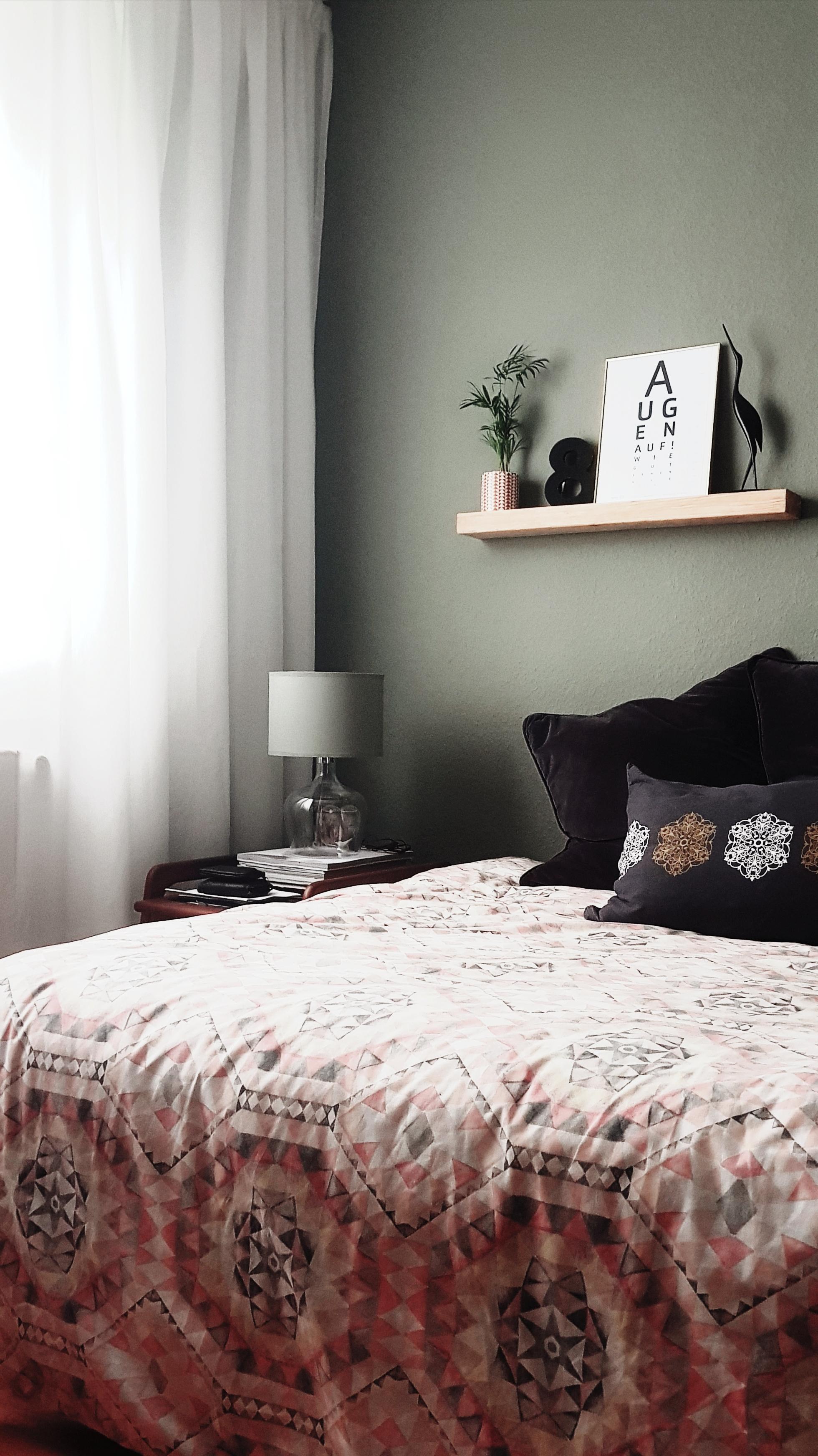 #schlafzimmer#wandfarbe#dekoration