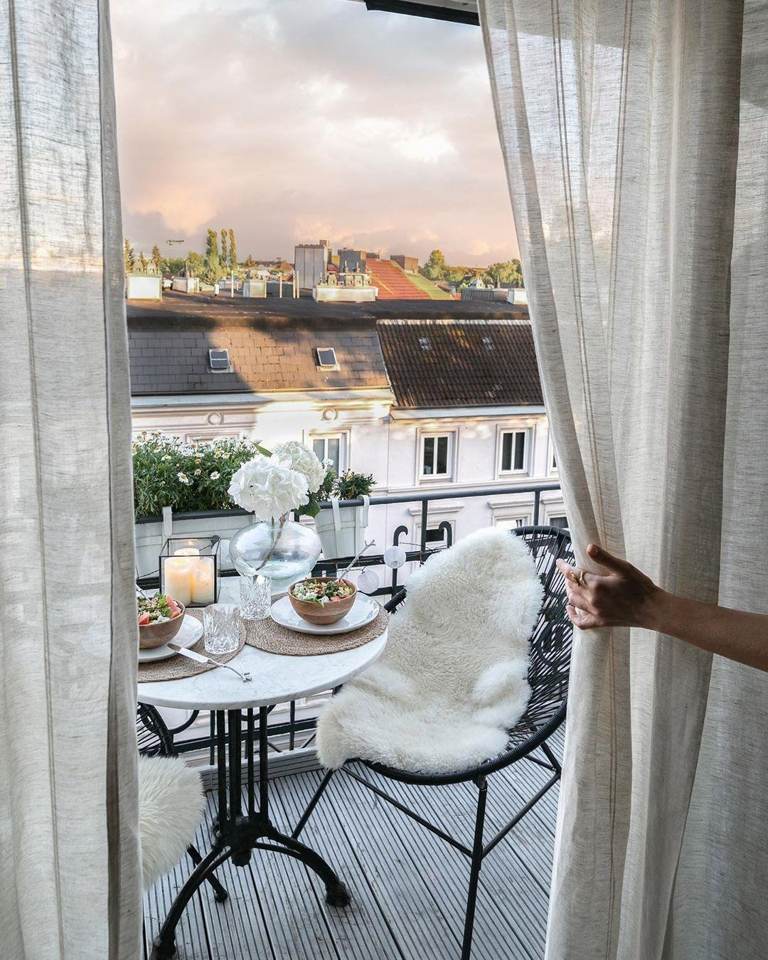 Balkon Ideen So wird's gemütlich im zweiten Wohnzimmer