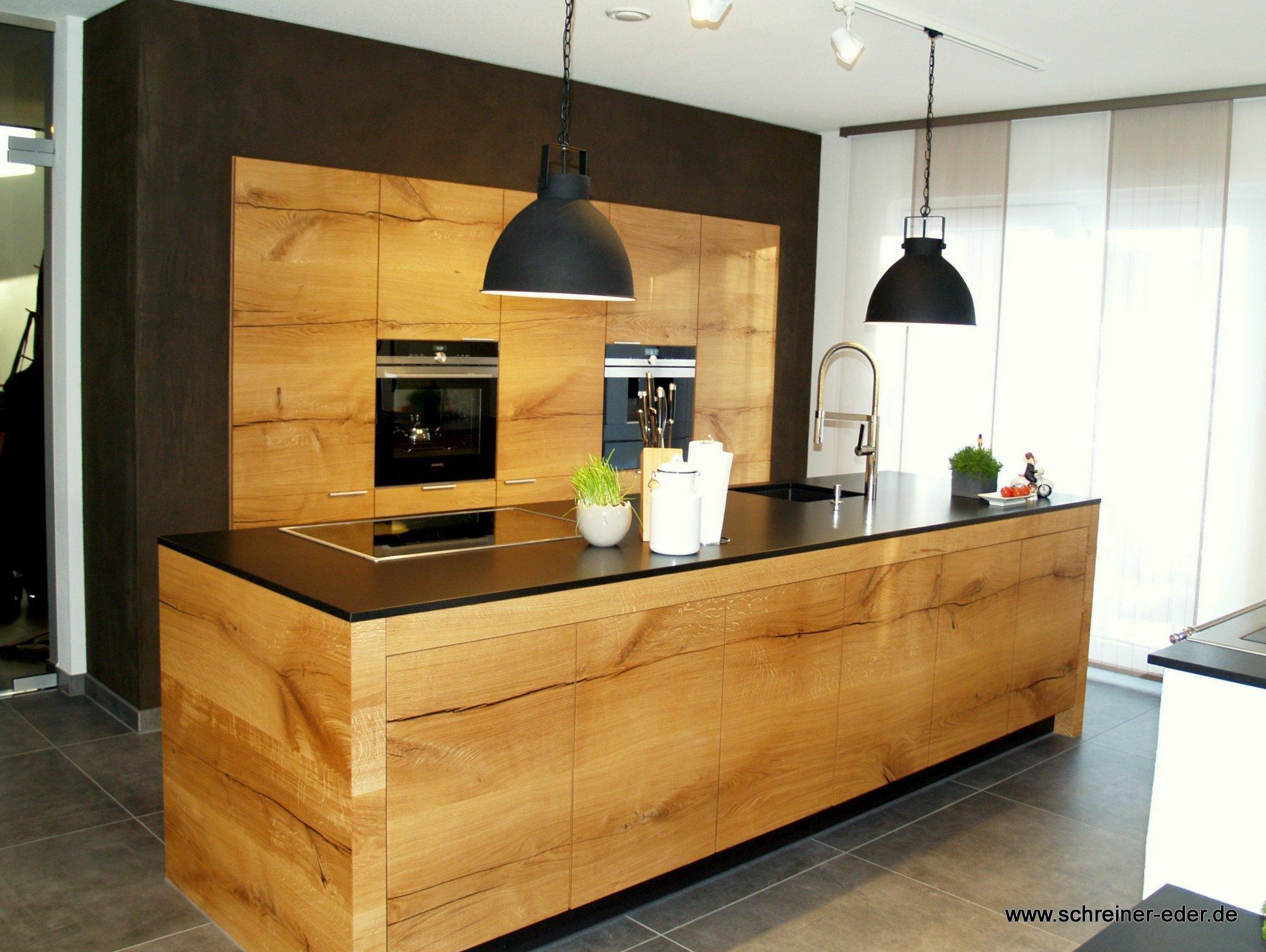 Schreinerküche Donaueiche #Küche #Kücheninsel #Küche