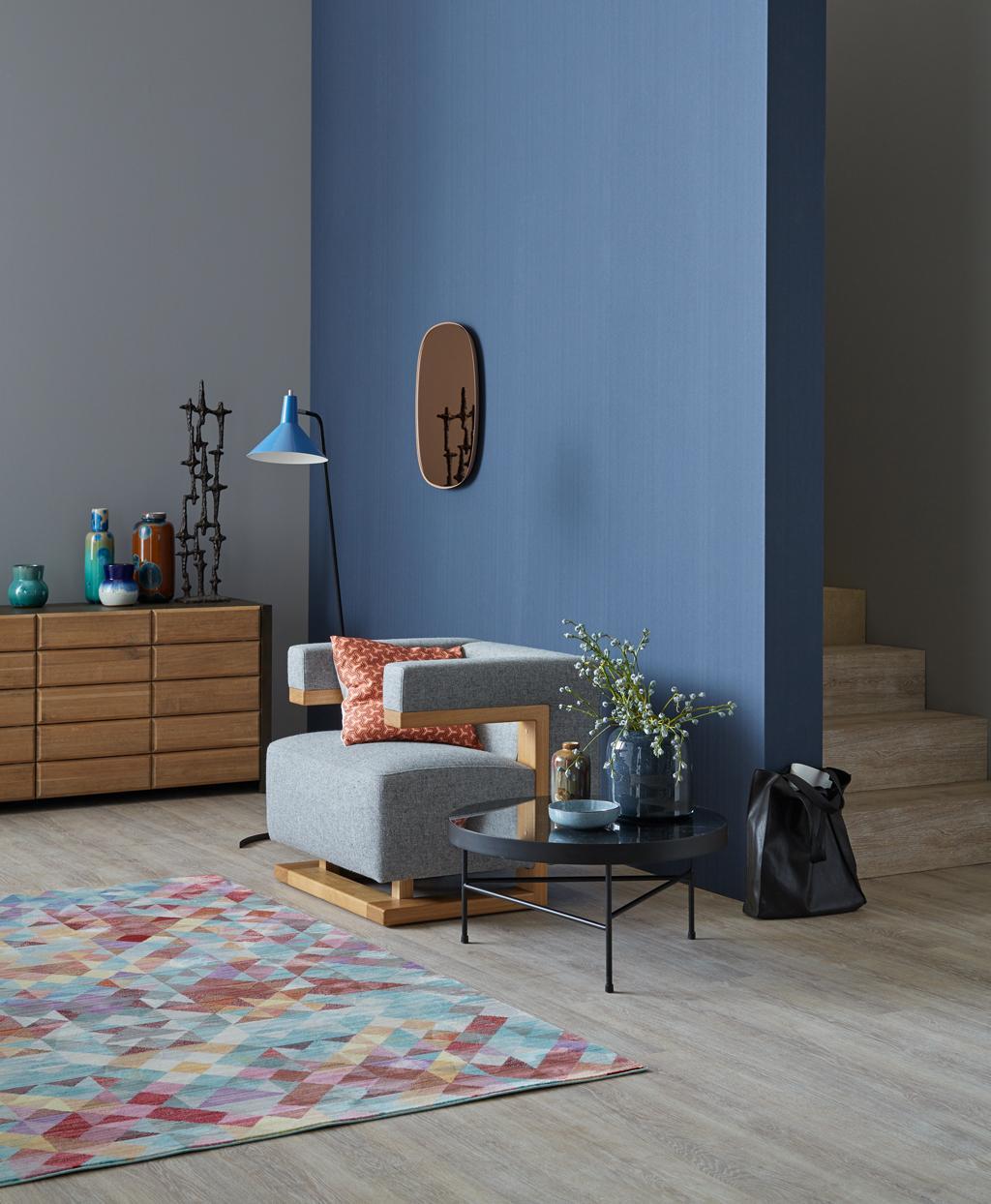 vliestapete • bilder & ideen • couchstyle, Wohnzimmer