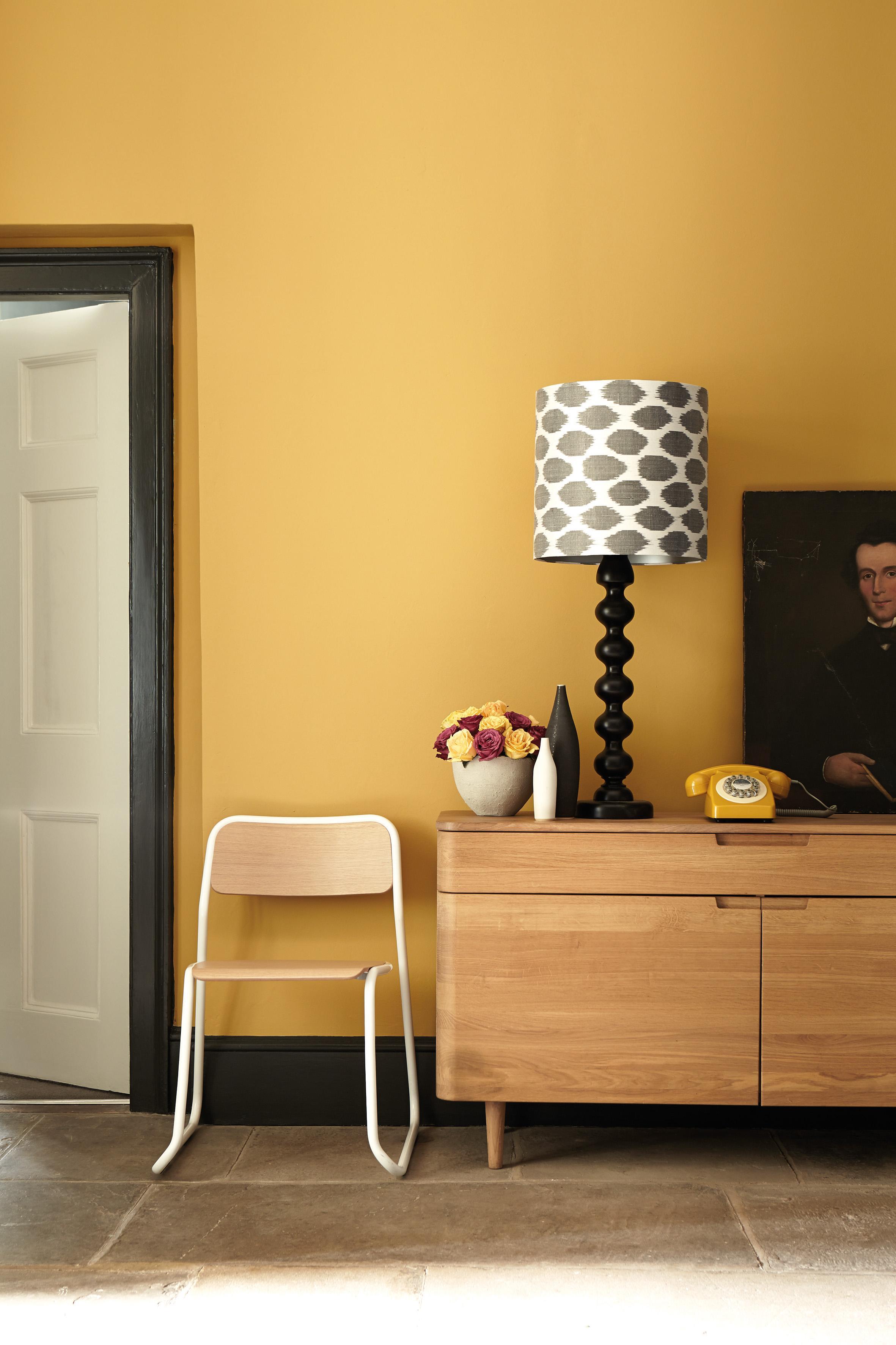 Gelbe Wandfarbe • Bilder & Ideen • COUCH