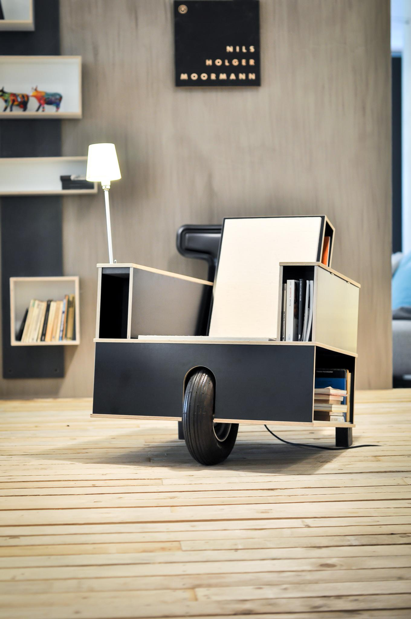 Sessel Bookinist von Nils Holger Moormann #sessel #lesesessel ©used-design