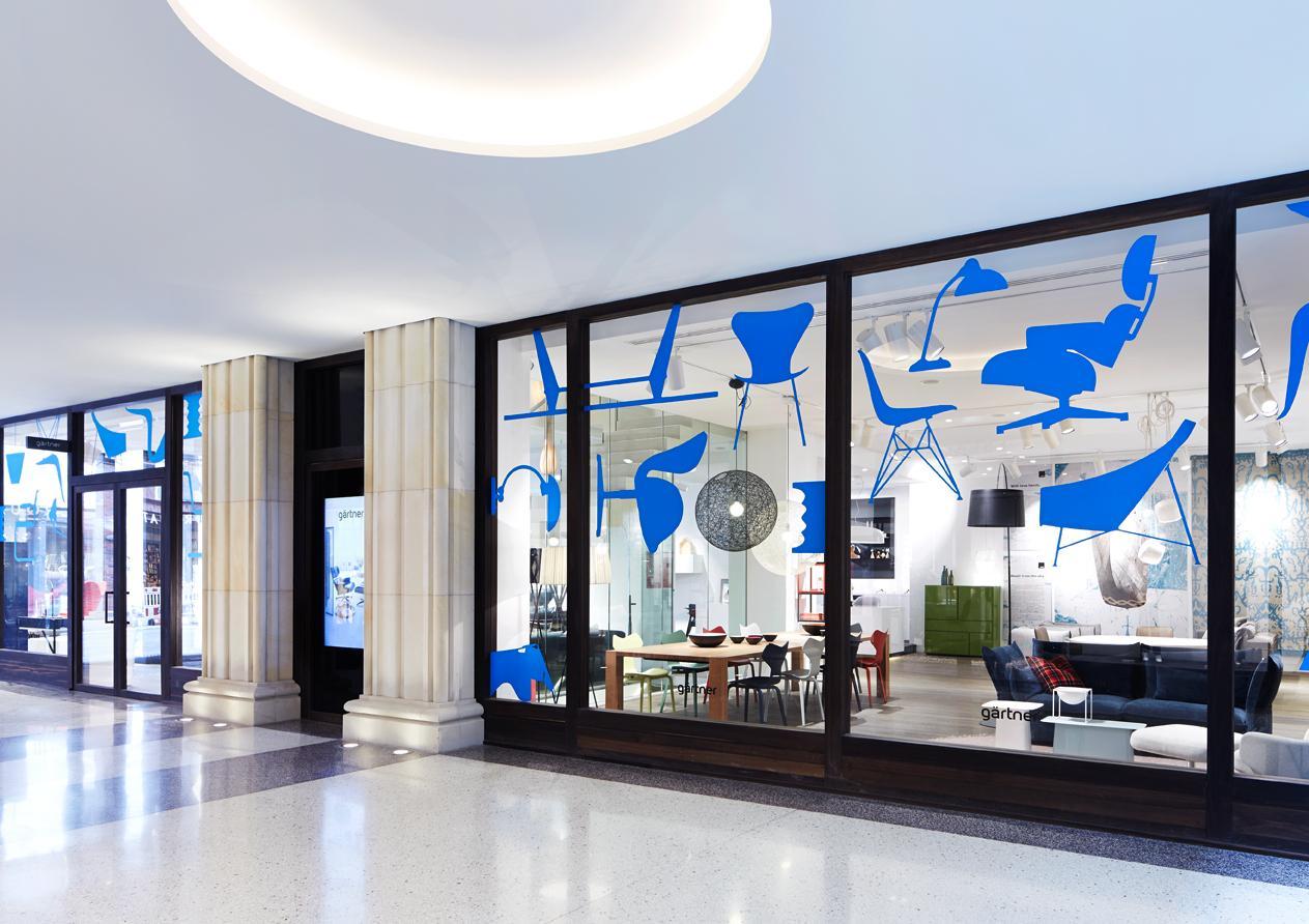 showroom g rtner hamburg fensterfront g rtner in. Black Bedroom Furniture Sets. Home Design Ideas