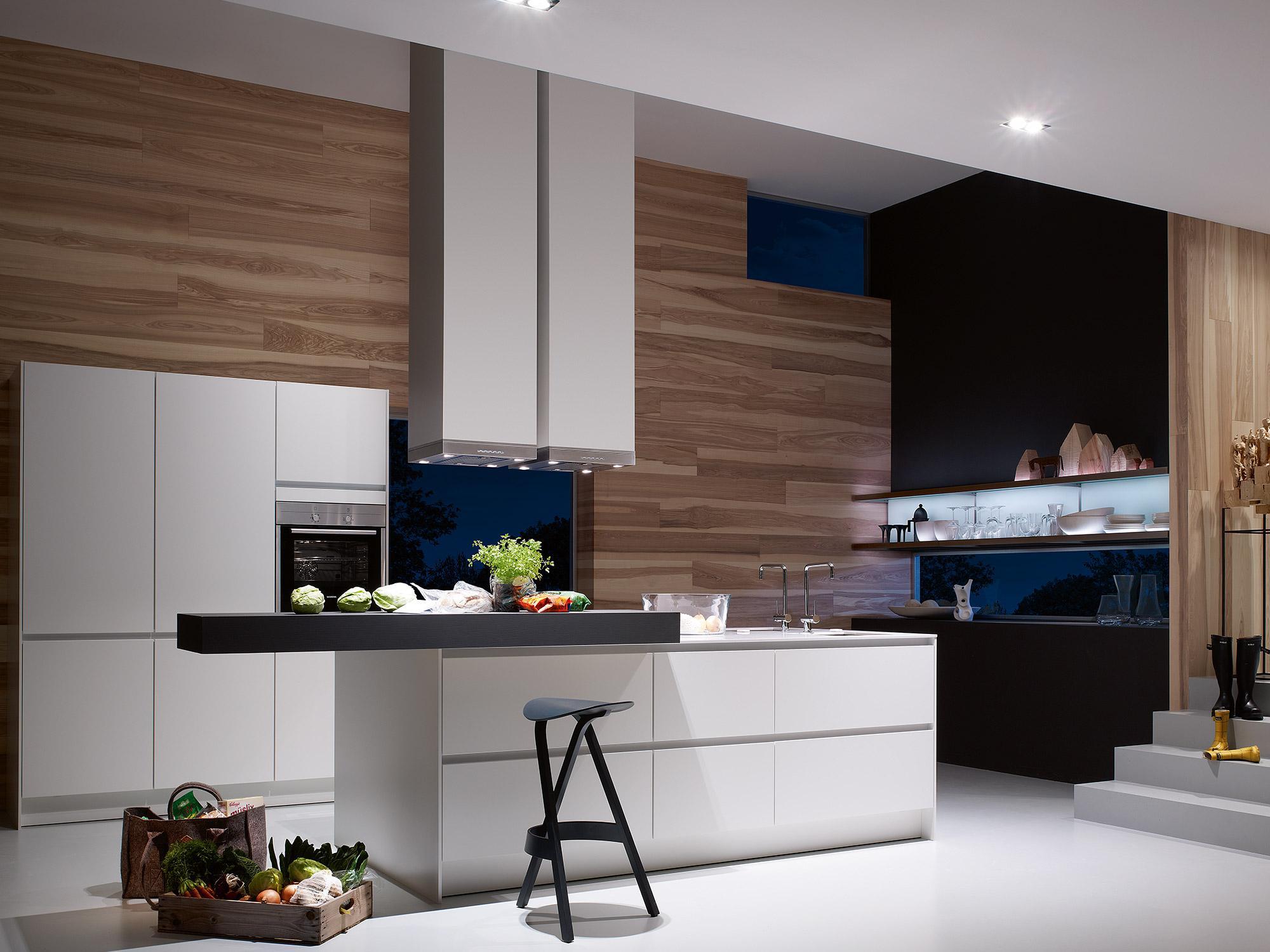 SieMatic S2 #küche #hocker #dunstabzugshaube #küchen...