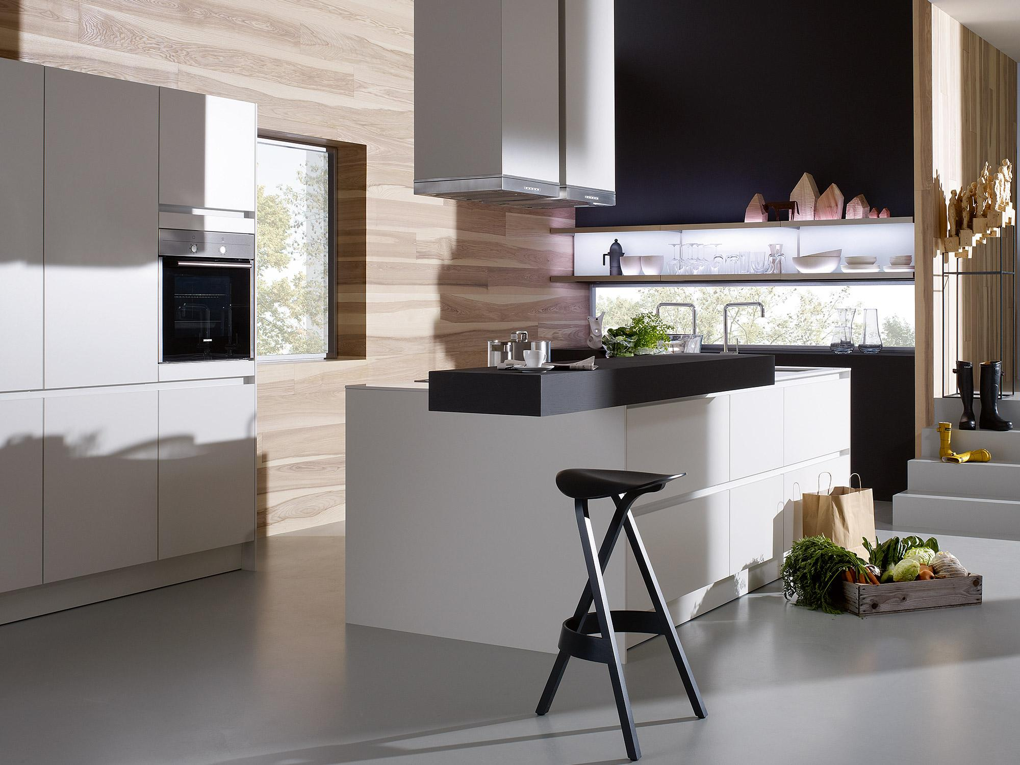 SieMatic S2 #küche #hocker #kücheninsel ©SieMatic