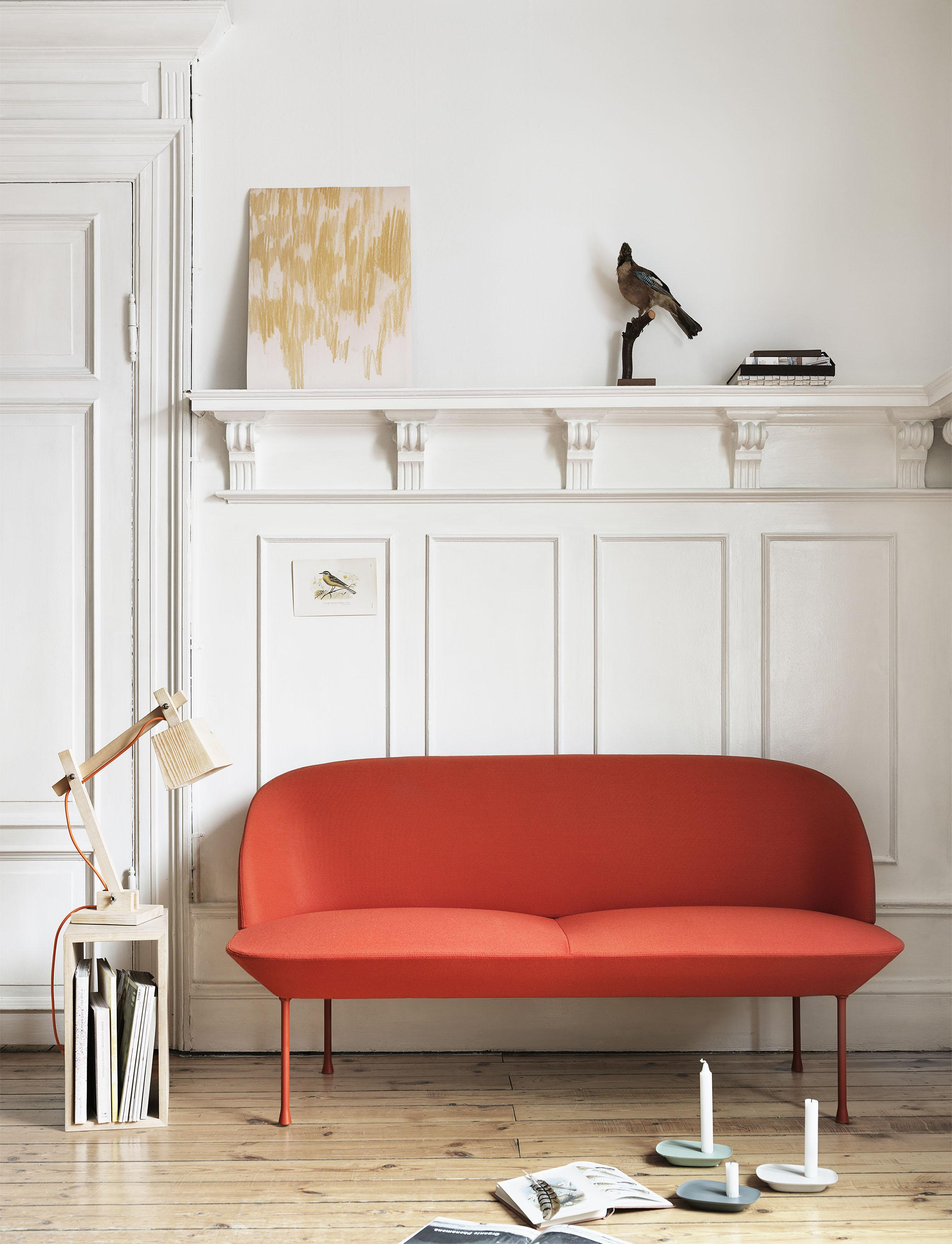 Rotes Sofa • Bilder & Ideen • COUCH
