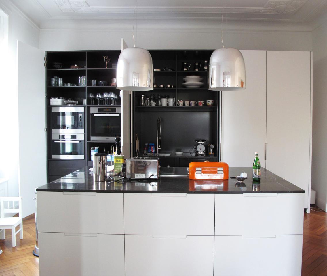 Schwarzweiße Küche • Bilder & Ideen • COUCH