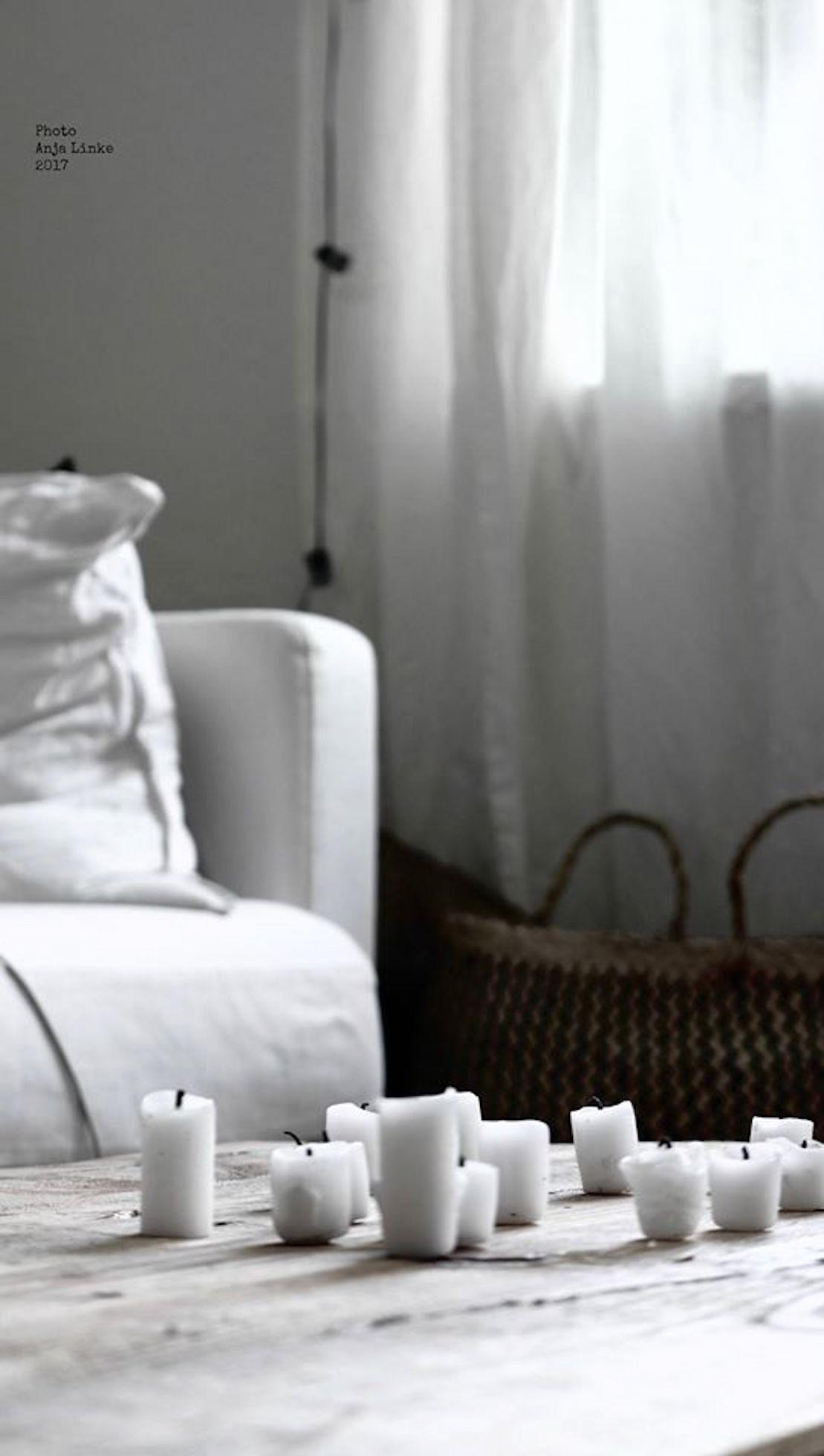 Silence Wohnzimmer Kissen Ikea Kerzendeko CAnja Linke