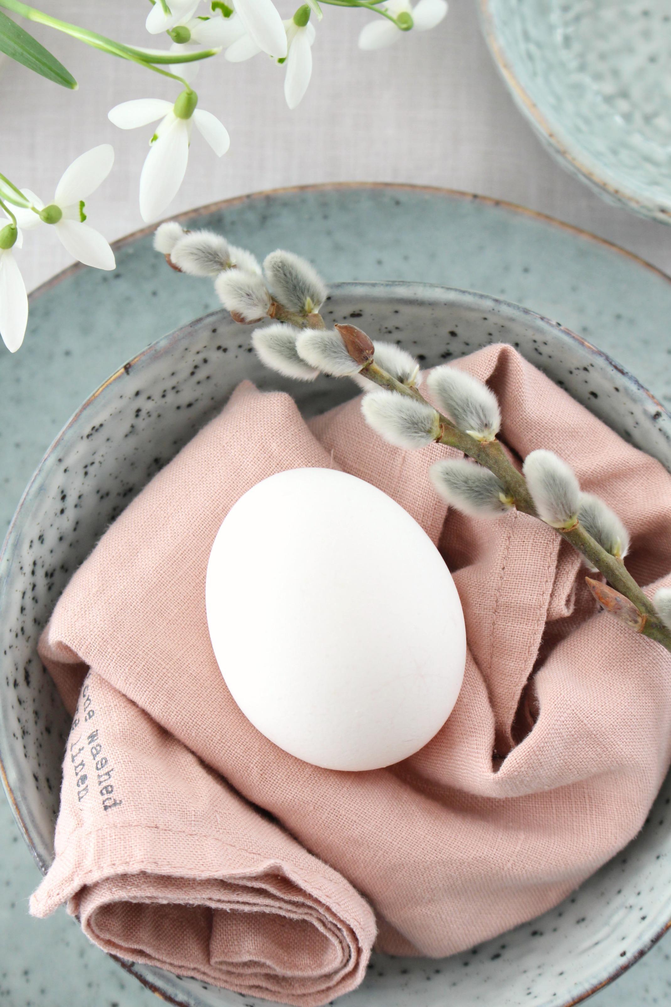 Simple Tischdeko Fur Ostern Einfach Und Schnell