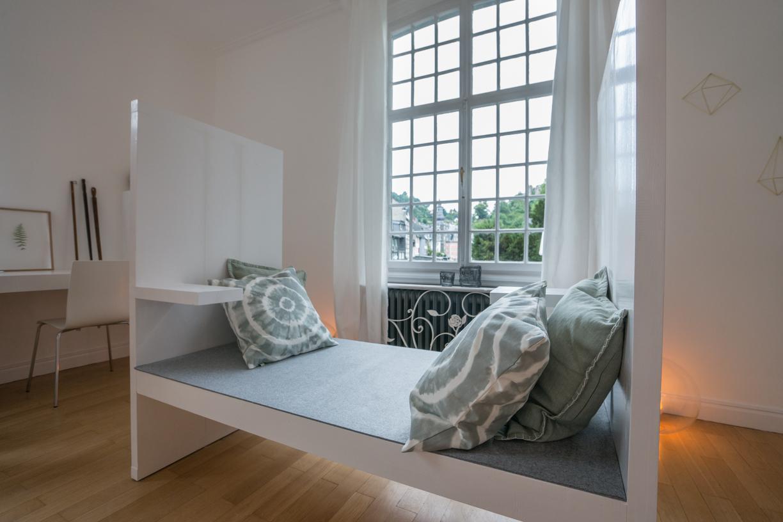 Sitzbank Für Zwei #wohnzimmer #sitzbank ©Studio B23