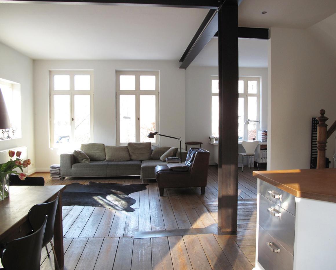 dachbalken • bilder & ideen • couchstyle, Wohnzimmer