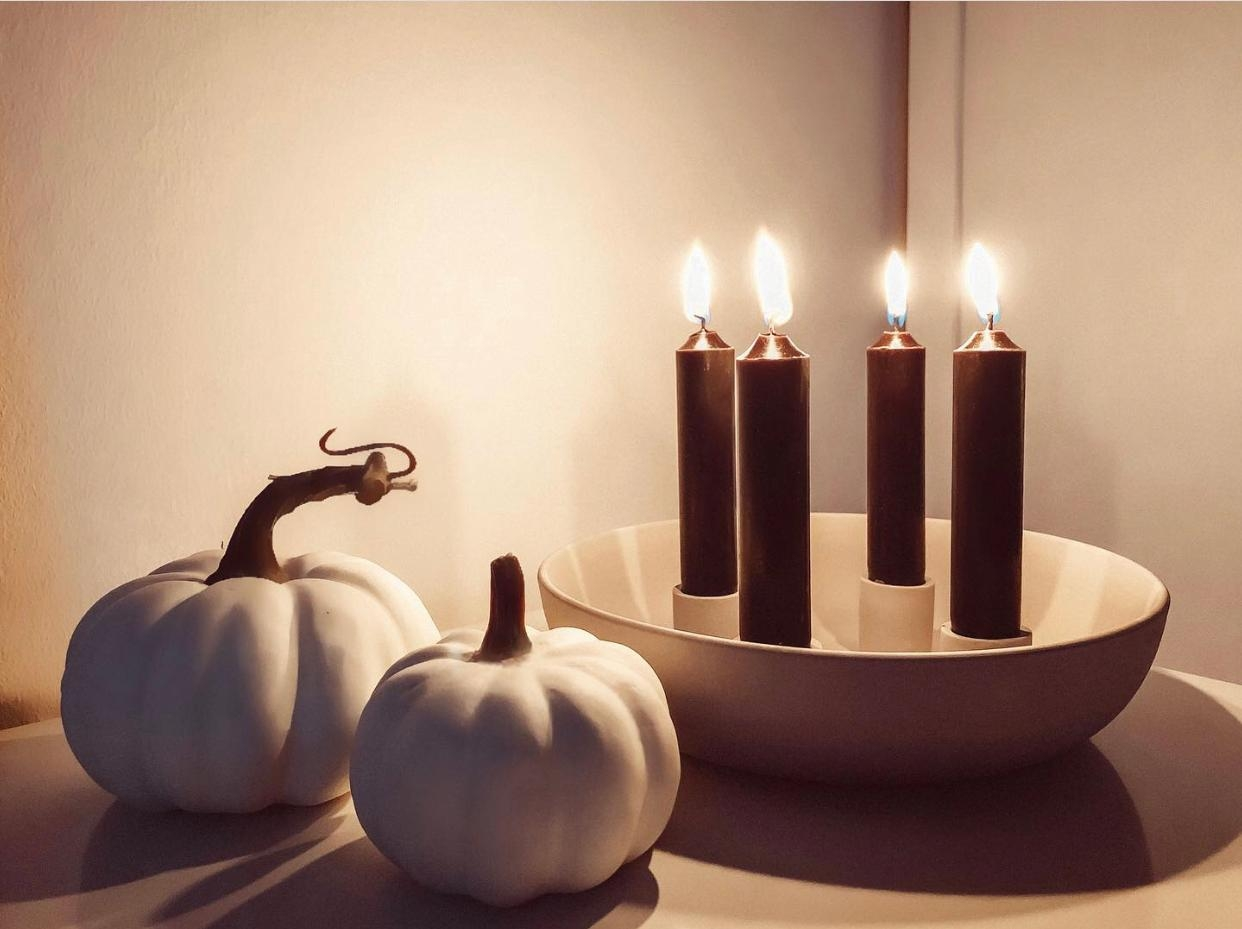 #skandi #herbst #autumn #hygge #interior #kerzen #cozy #tableontuesday
