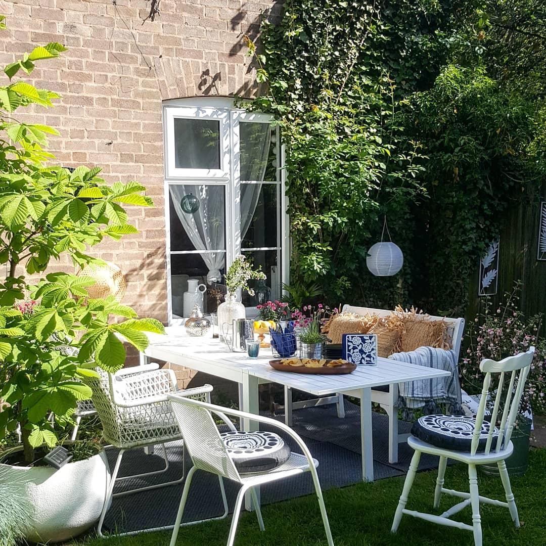 Entzückend Ausgefallene Gartenmöbel Ideen Von #skandistyle #garten #terrasse #sommer #gartendeko #gartenmöbel #england