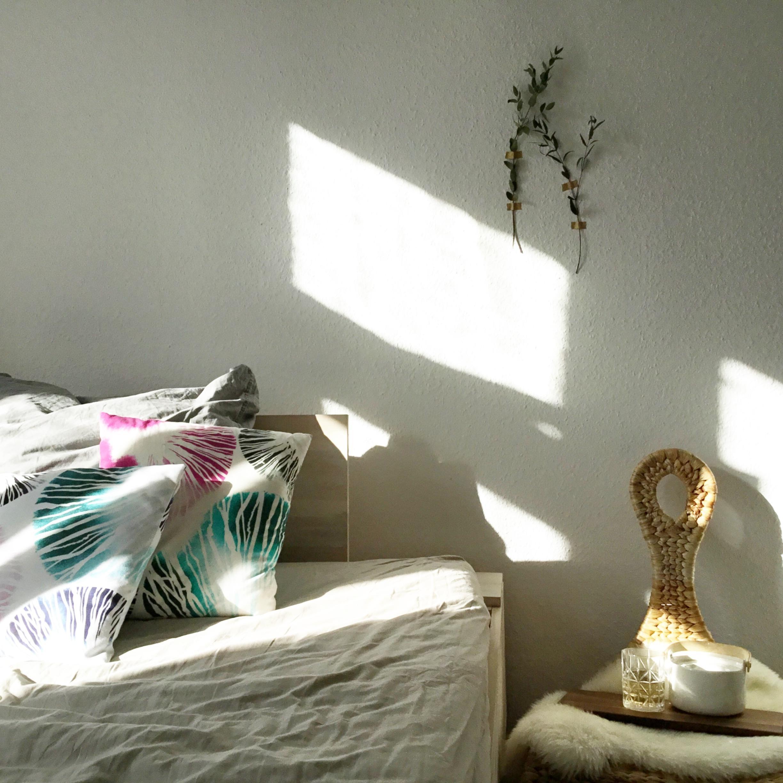 slowmorning im bett mit morgensonne und tee marimekko youdesignme - Schlafzimmer Bett