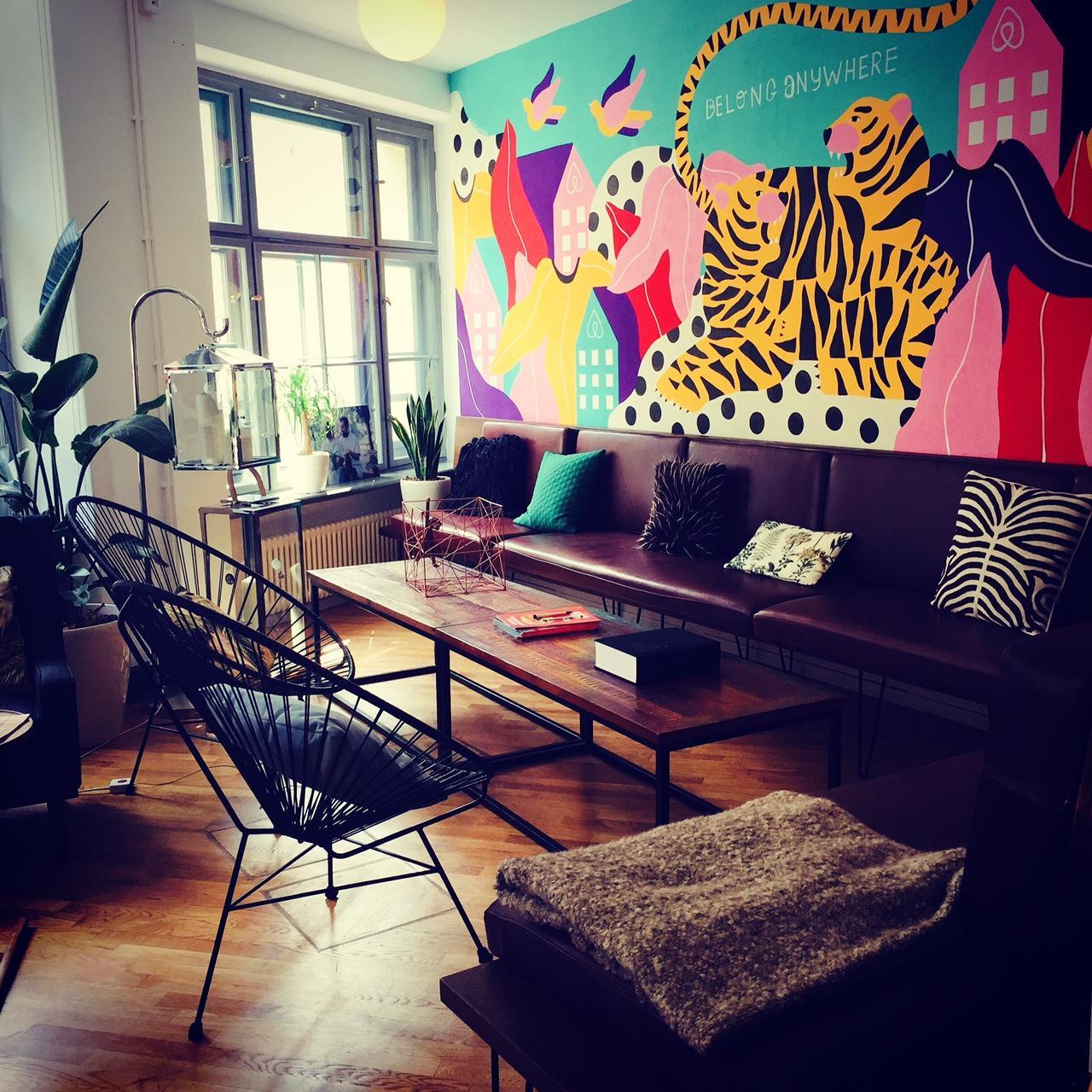 So Kann Man Auch Arbeiten   Zu Besuch Bei Airbnb Im Neuen Berliner Office  #airbnb