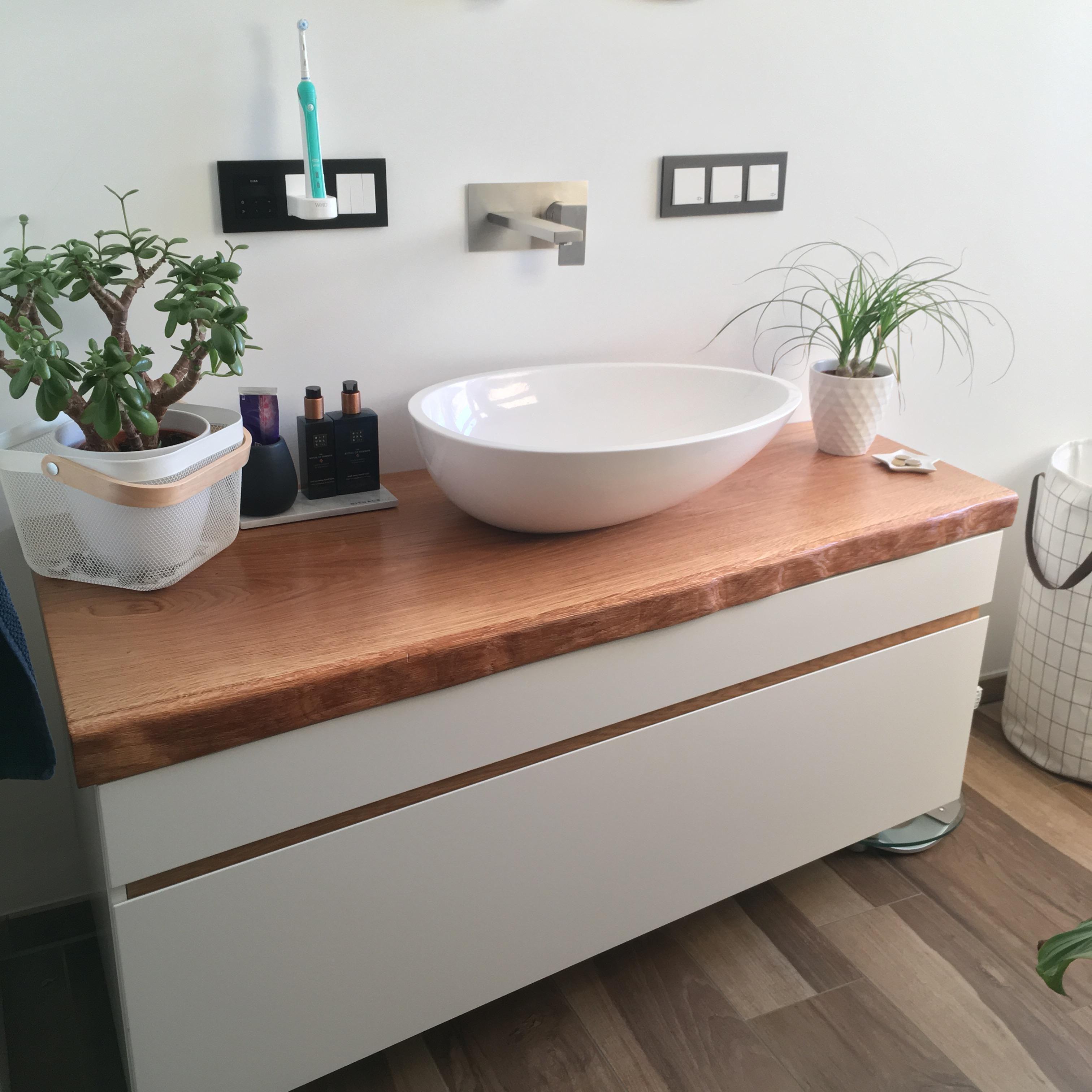 So Macht Man Sich Morgens Gerne Fertig. #badezimmer #waschtisch #interior  #holz