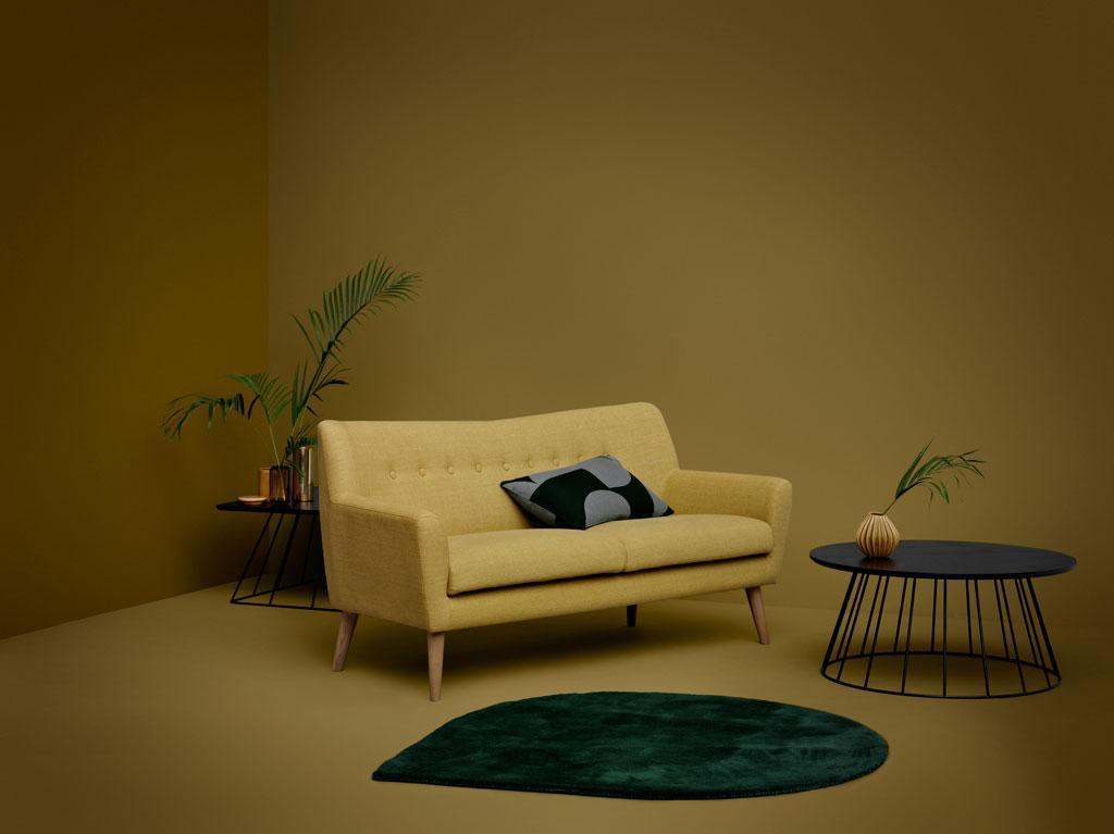 "Sofa ""Henley"" in curry #sofa ©SofaCompany"