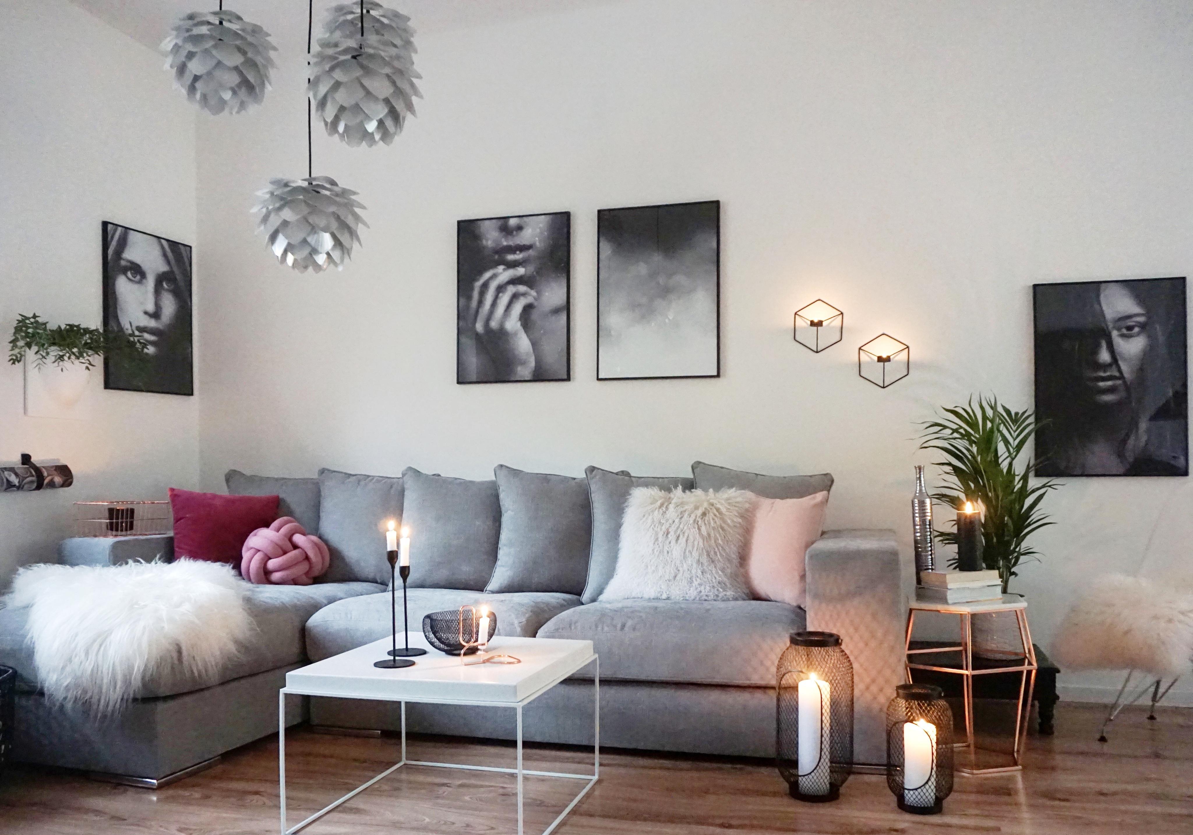 Amaris Elements sofa 'newman' im wohnzimmer der bloggerin easyinteri
