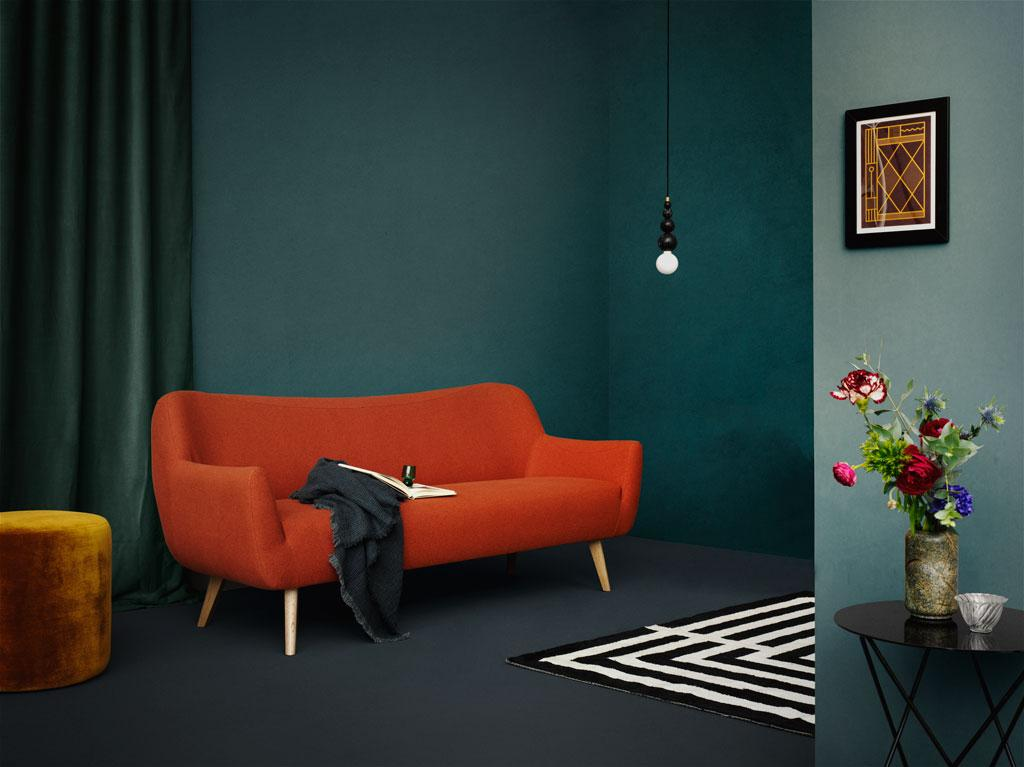 Rotes Sofa Bilder Ideen Couch