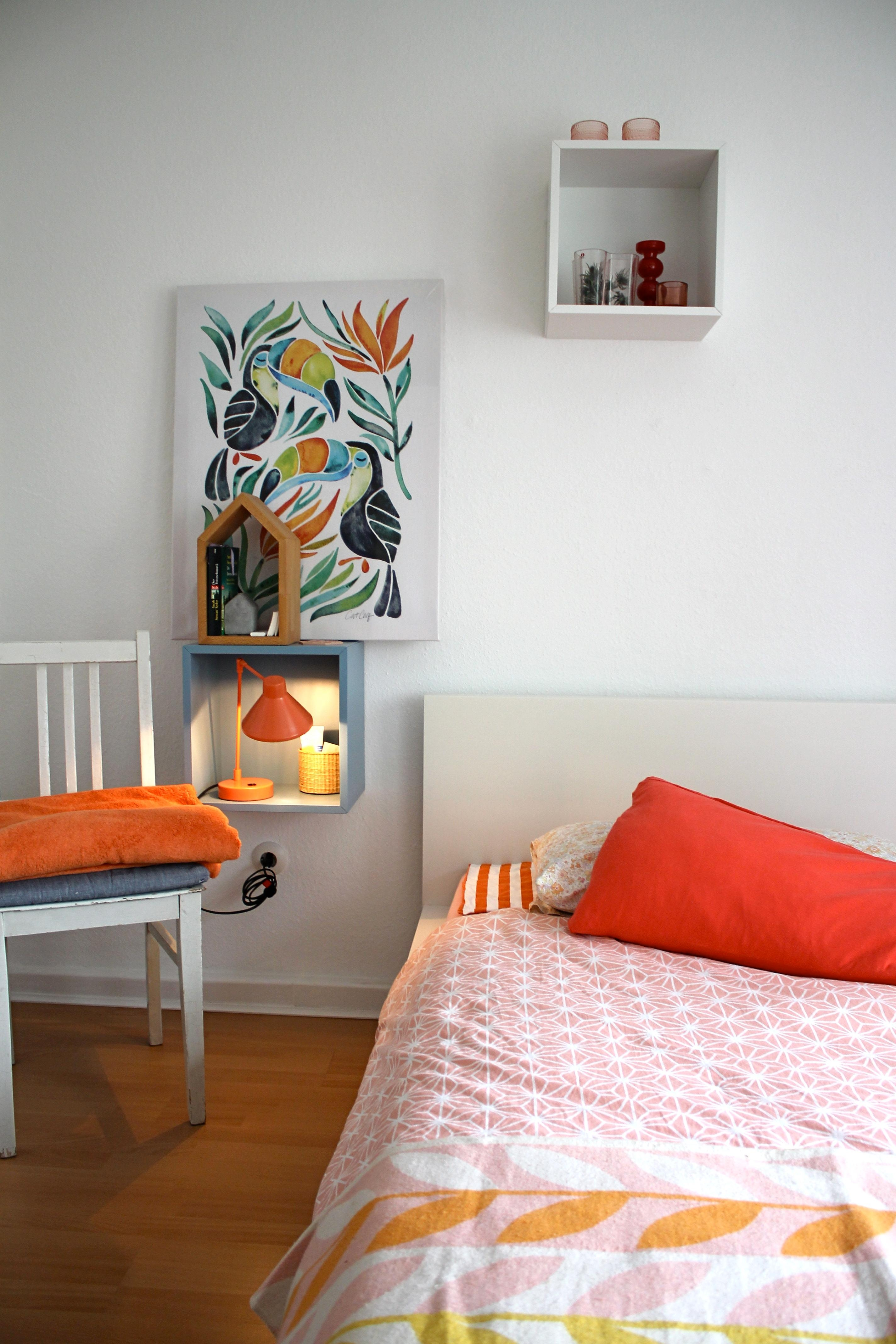 Sommer 2018 - Schlafzimmer-Farben an #Tukan