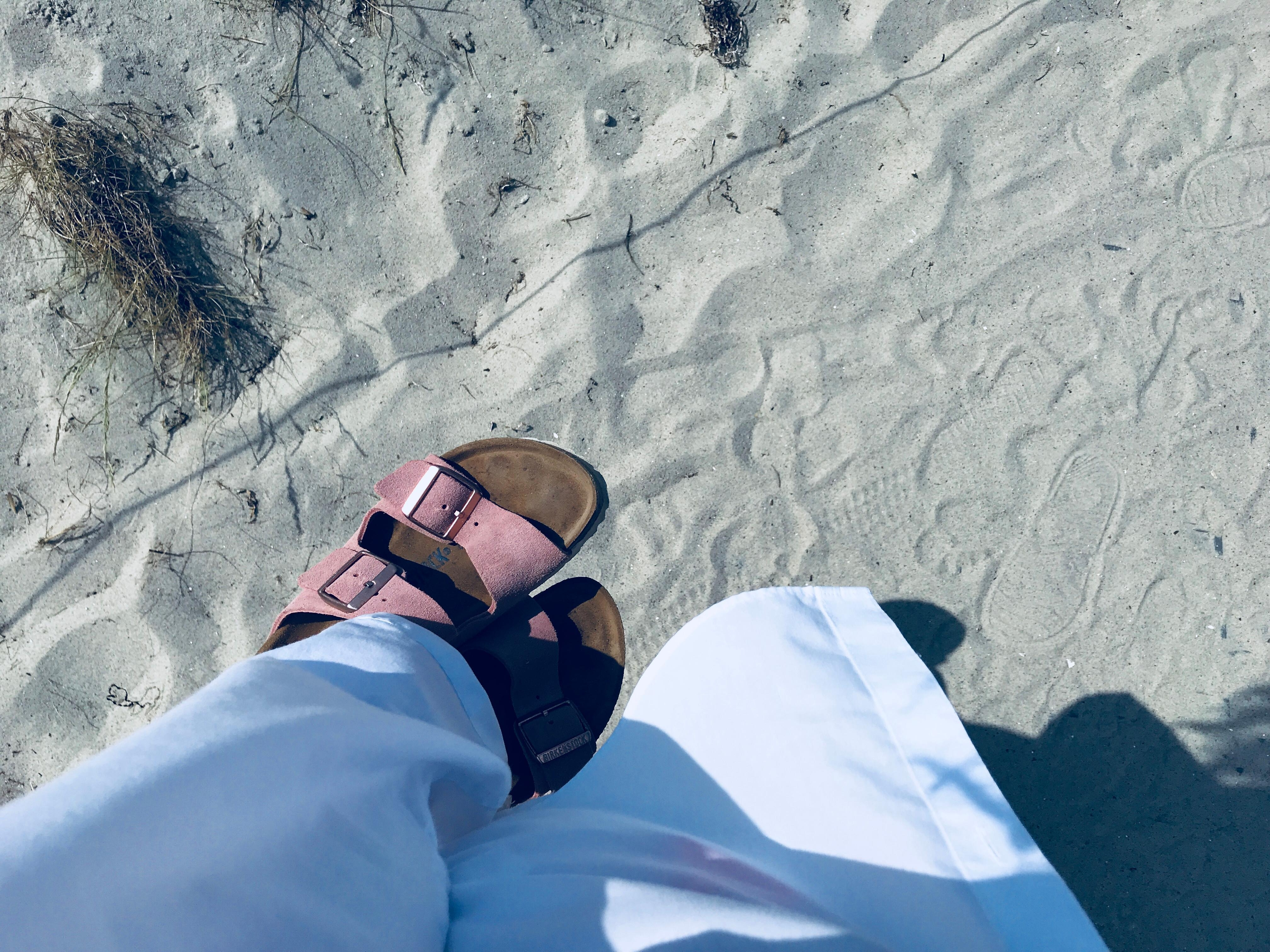 Sommer, Sonne , Sand <3 #sommeroutfit #birkenstock #weiss