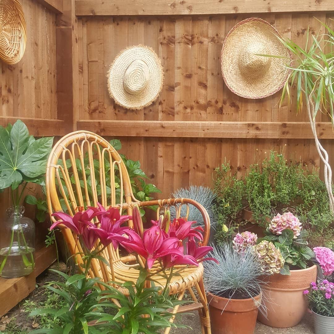 Sommerdeko Sommer Deko Garten Terrasse Boho