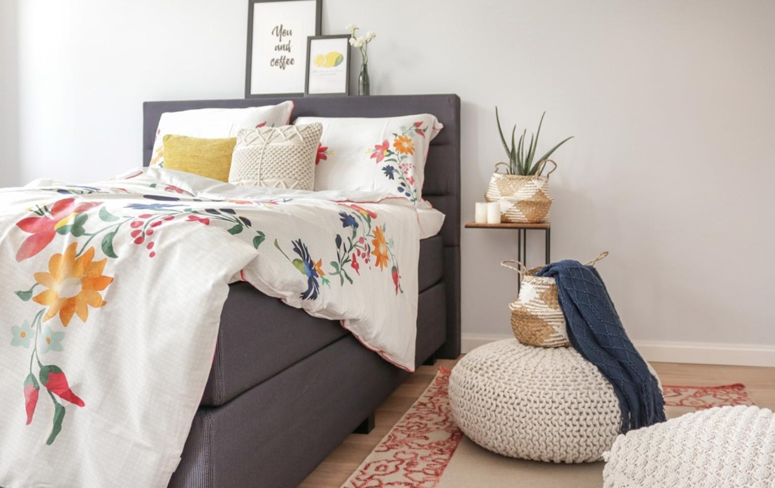 Sommergefühle Im Schlafzimmer #summer #esprithome #couchliebt #dekoidee  #boxspringbett