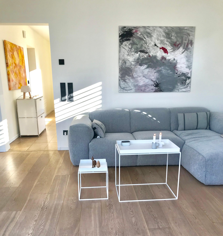 Sonne im Haus 🏠 herrlich 💕 #wohnzimmer #couch #grau ...