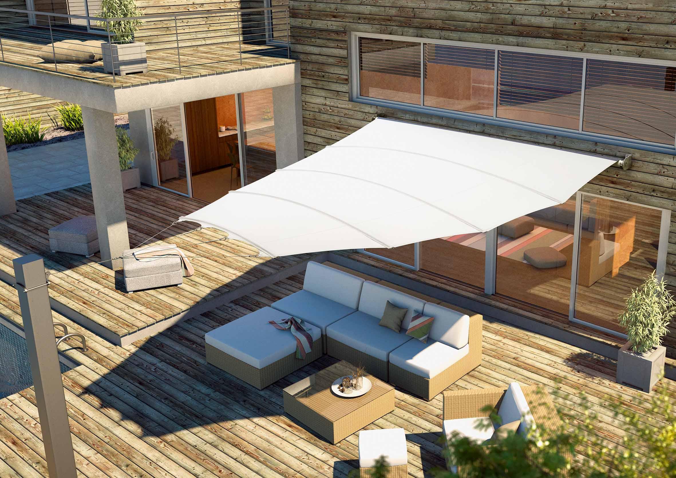 balkon sonnenschutz bilder ideen couch. Black Bedroom Furniture Sets. Home Design Ideas