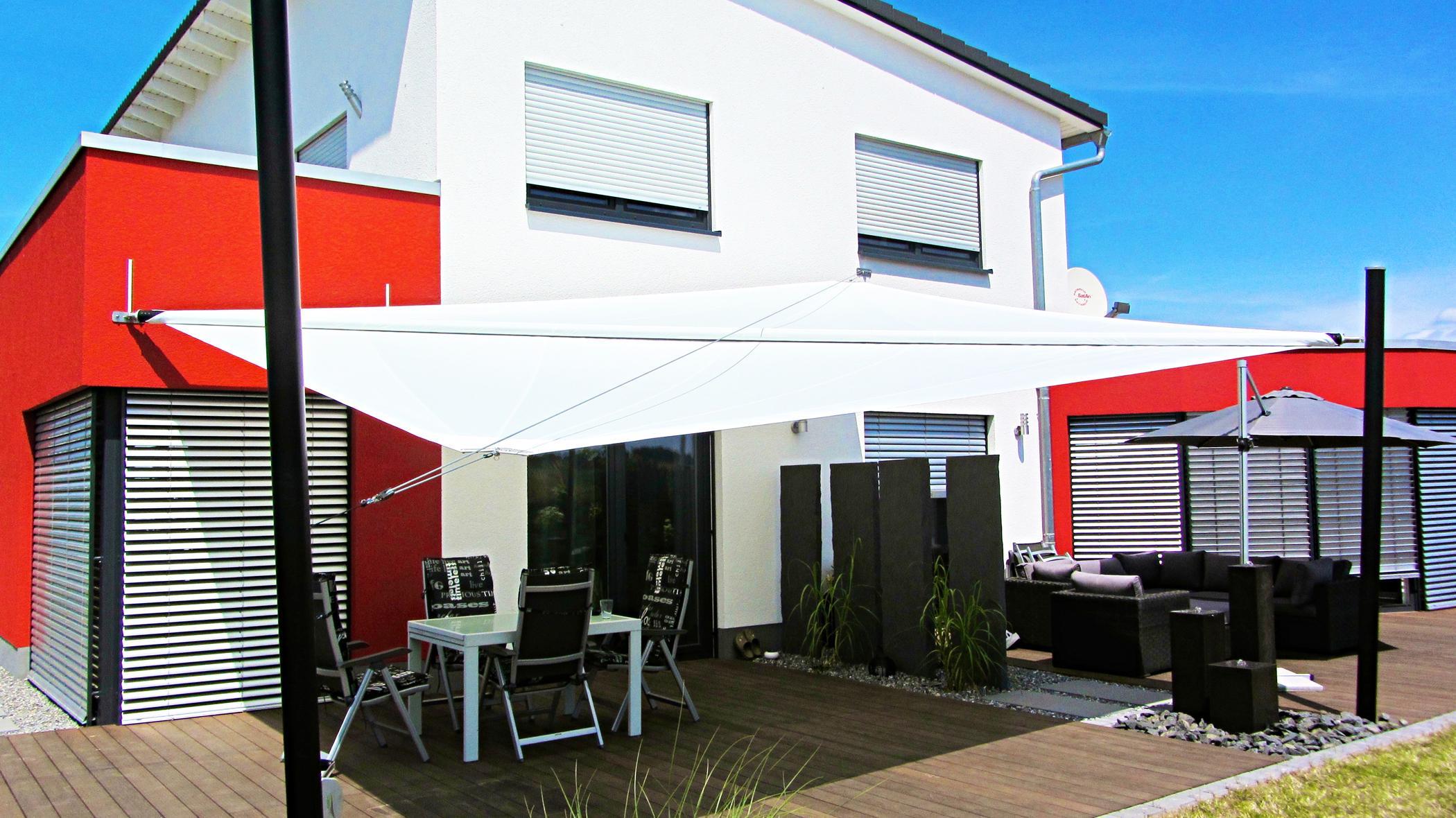 sonnensegel terrasse - sonnenschutz online bestellen | pina ... - Dachfenster Einbauen Vorteile Ideen