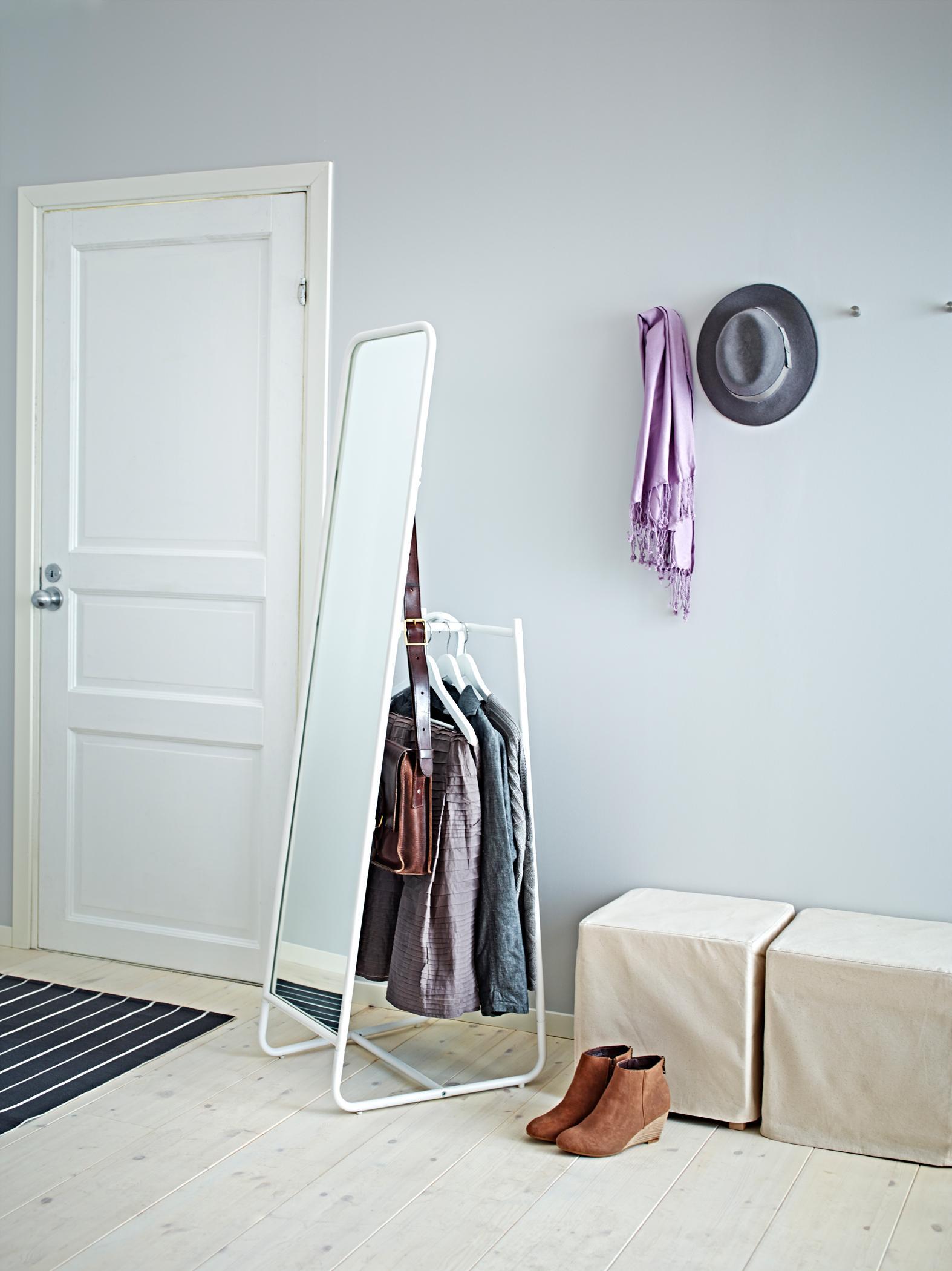 Spiegel Garderoben Kombination kleiderständer ikea...