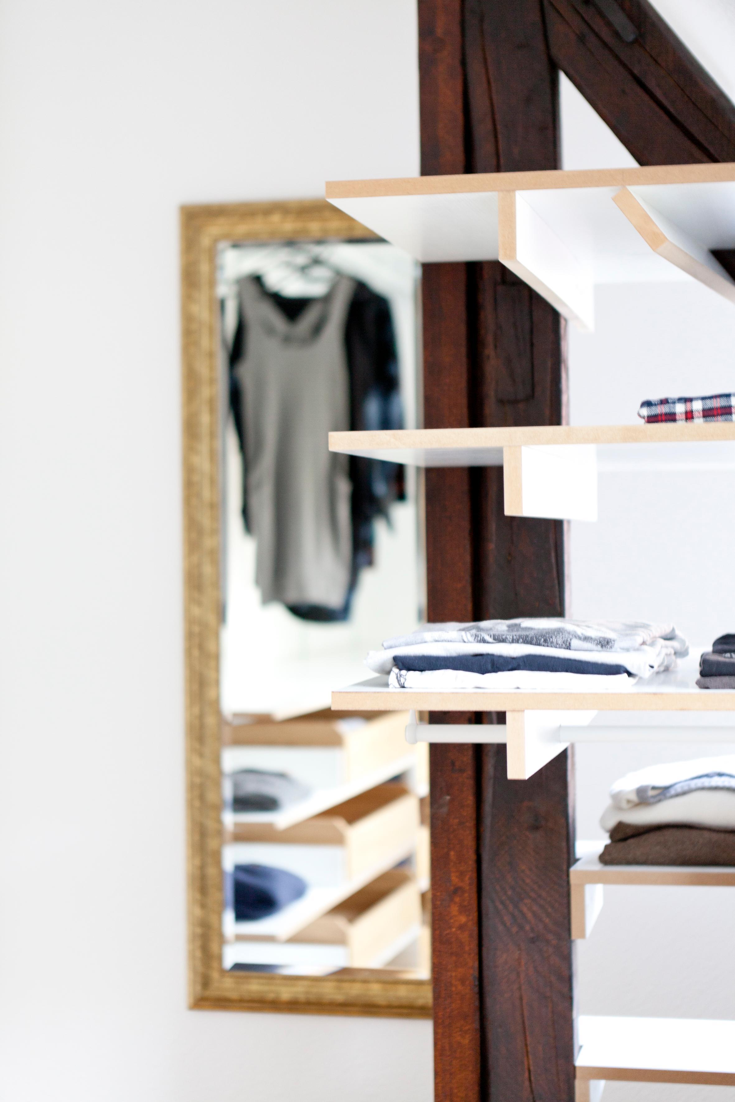 Kleideraufbewahrung bilder ideen couchstyle - Kleiderablage ideen ...