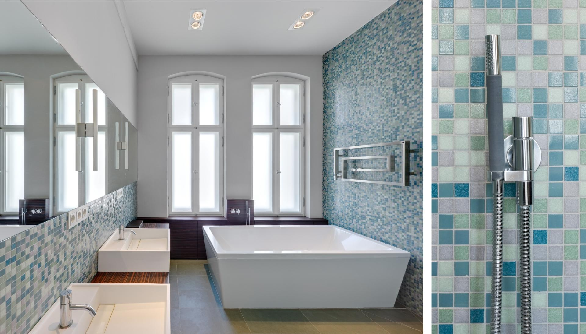 Spreebogen #bad #badewanne ©BERLINRODEO interior concepts GmbH