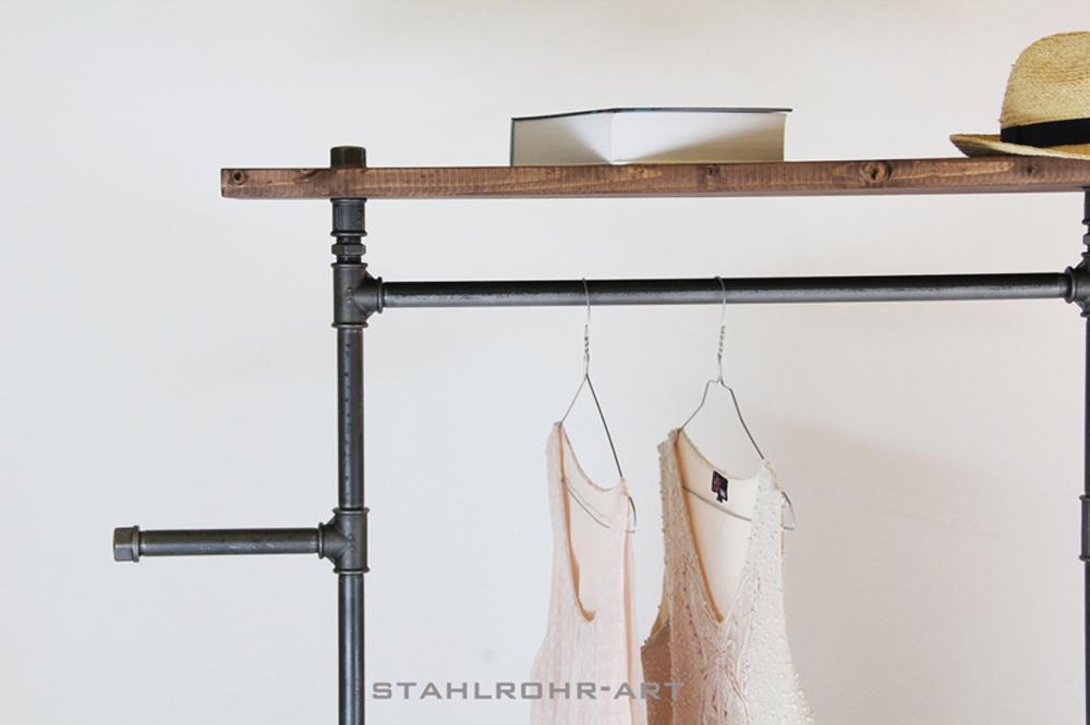 stahlrohrart - Bucherregal Wand Als Mobeldekoration Und Funktionell