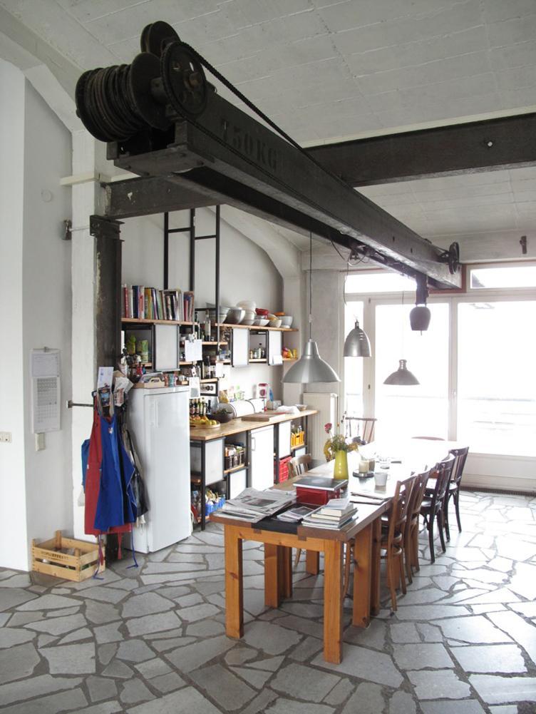 Nice k che industriestil images rabatt industrie stil for Kuchengestaltung fur kleine kuchen