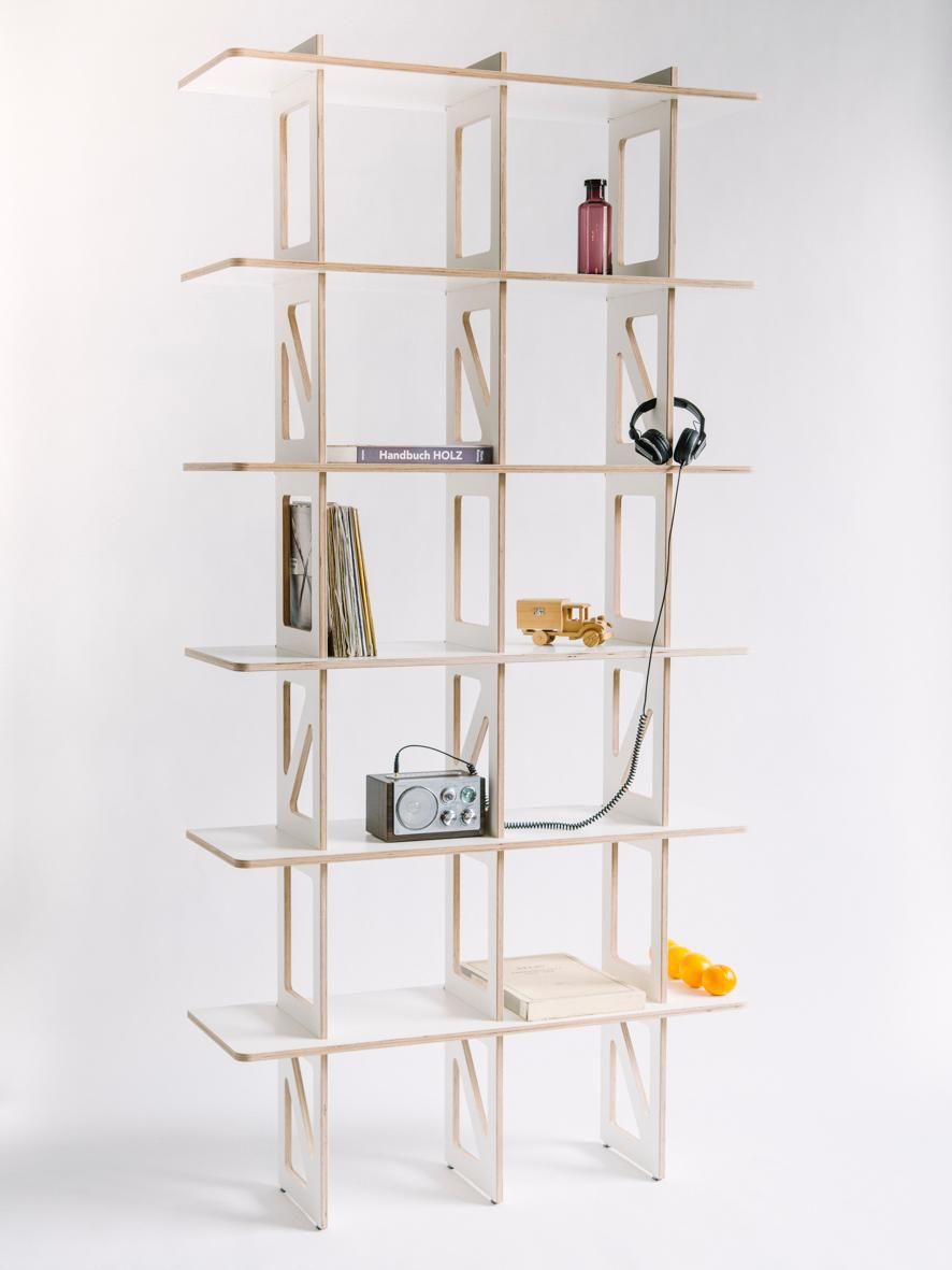 "Steckregal ""Starshelf"" #regal #bücherregal #regalsystem #plattenregal #skandinavisch Wood ́s up"