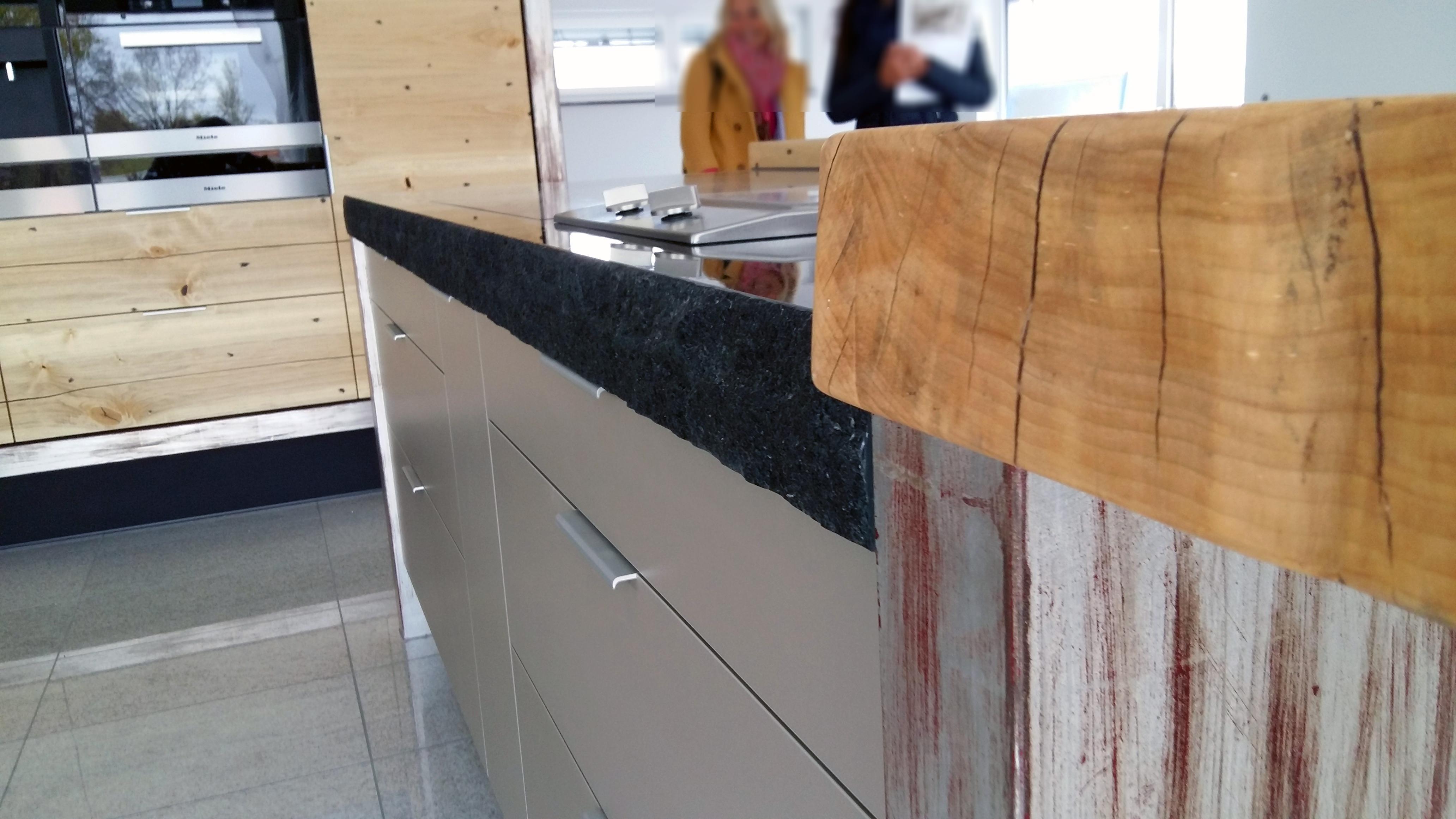 Schreinerei Eder steinarbeitsplatte mit gebrochenen kanten küche wo