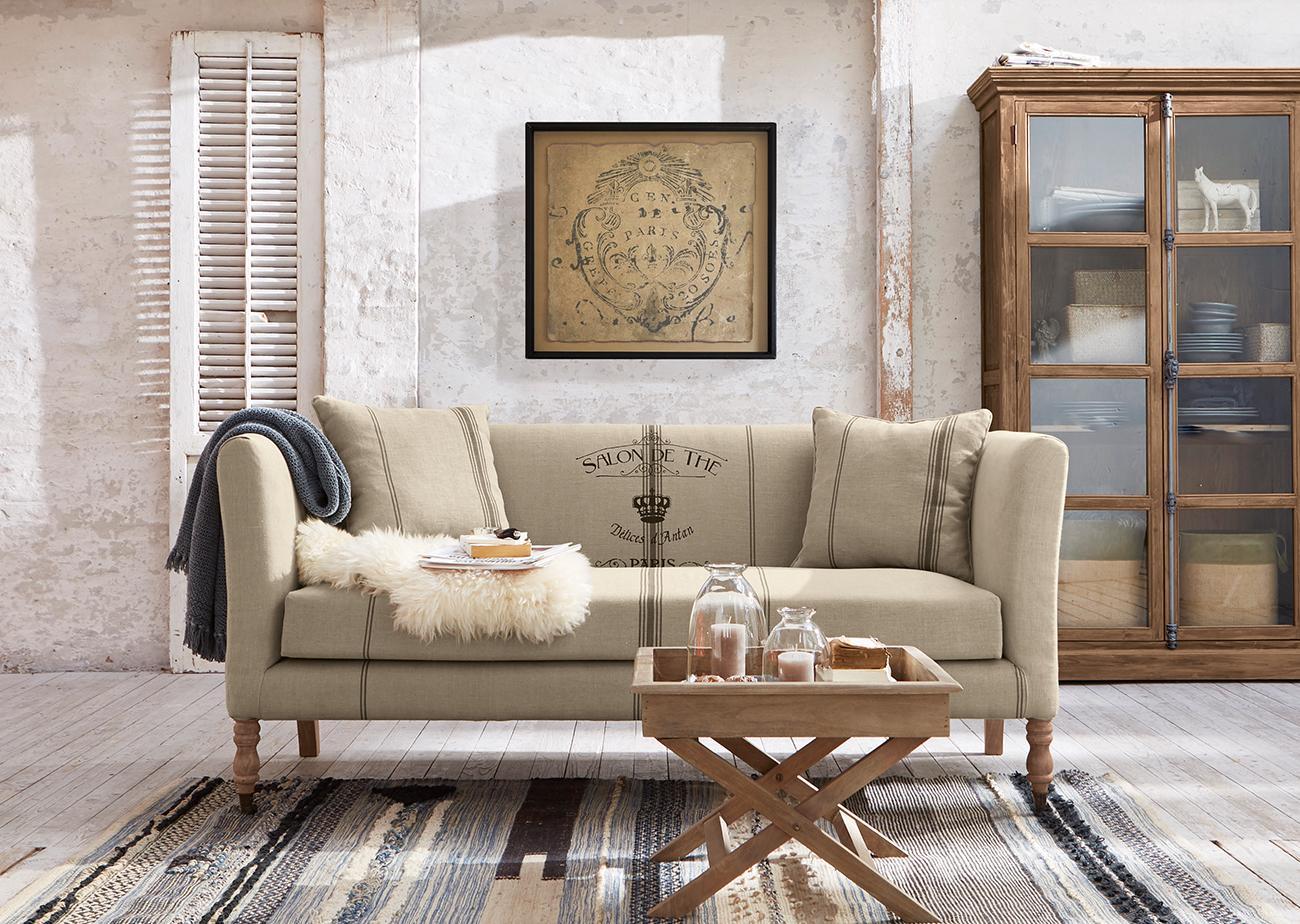 Stilvoll Arrangiert #sofa ©LOBERON