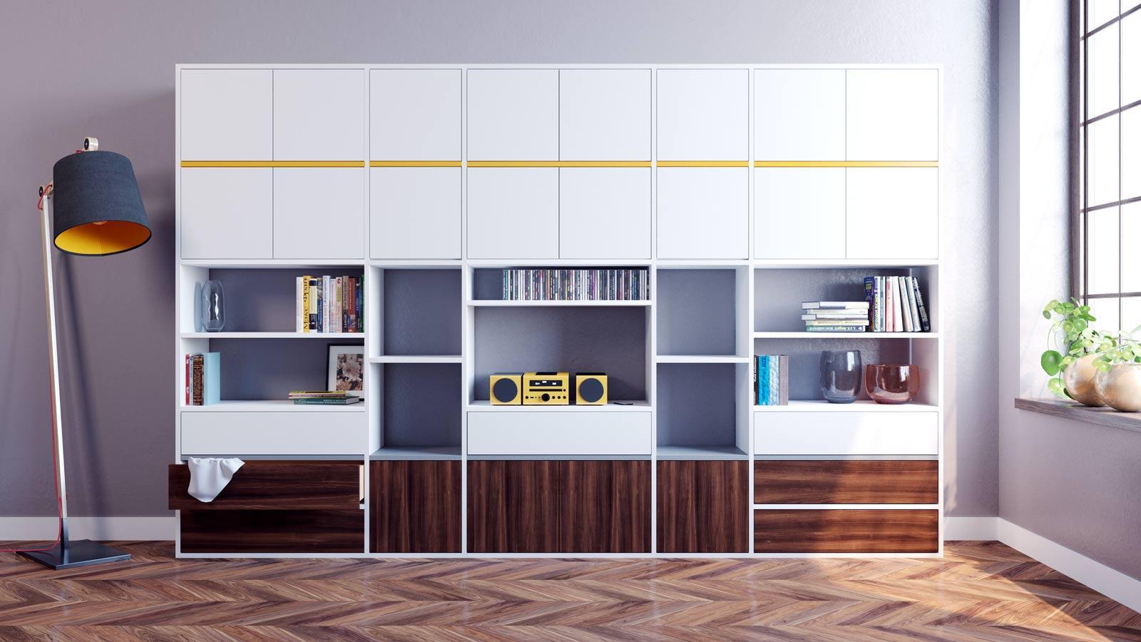 Wohnzimmerschrank • Bilder & Ideen • COUCH