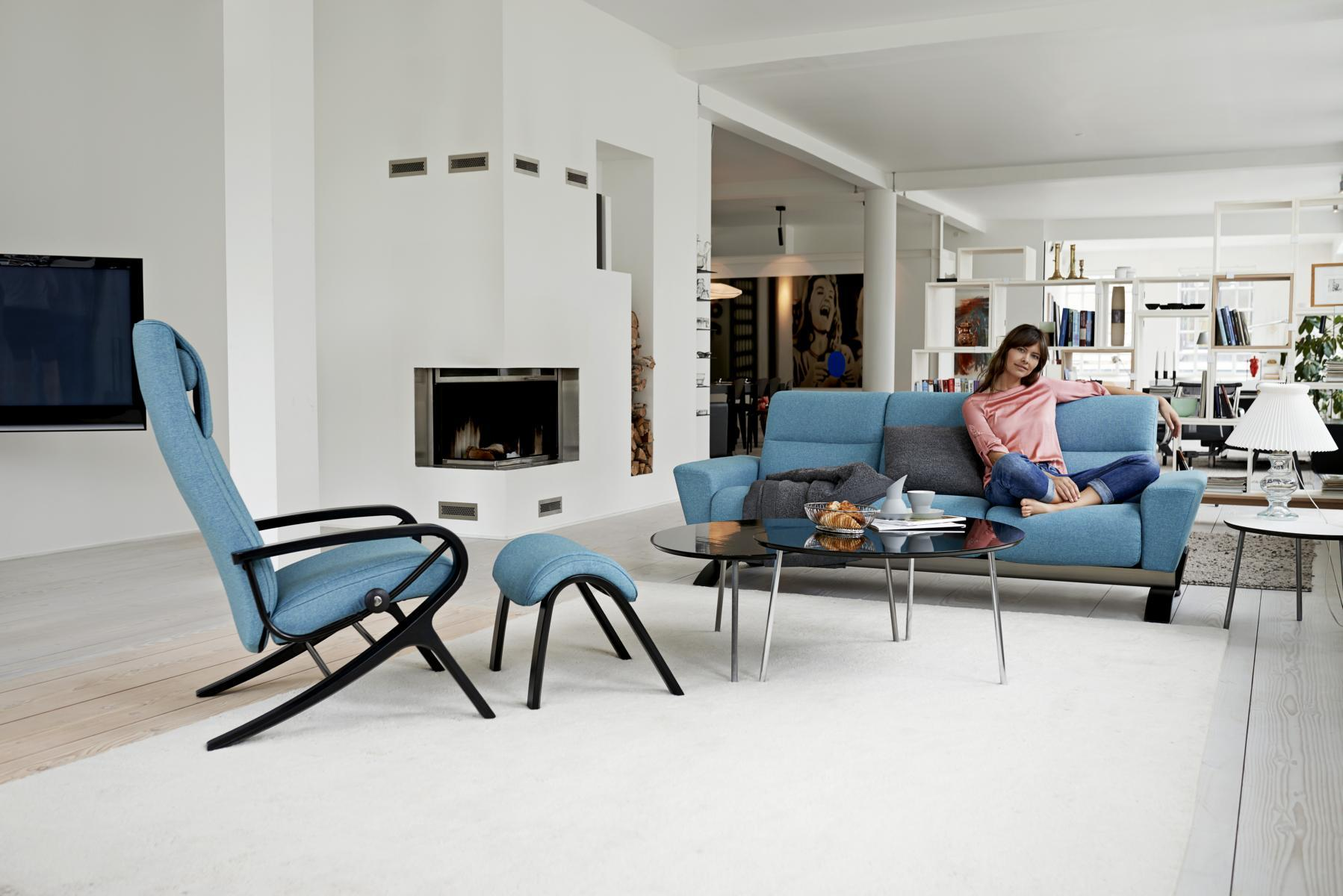 Stressless YOU Julia Dreisitzer & Bequemsessel James #sessel #sofa ©Ekornes