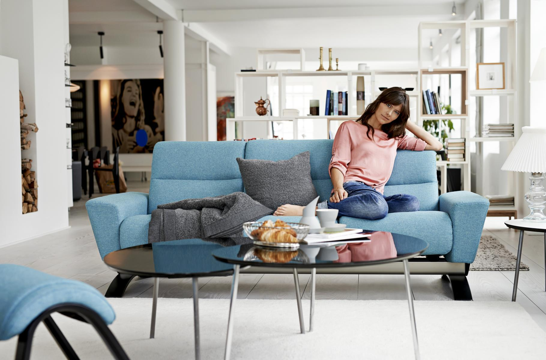 Stressless YOU Julia Dreisitzer #sofa ©Ekornes