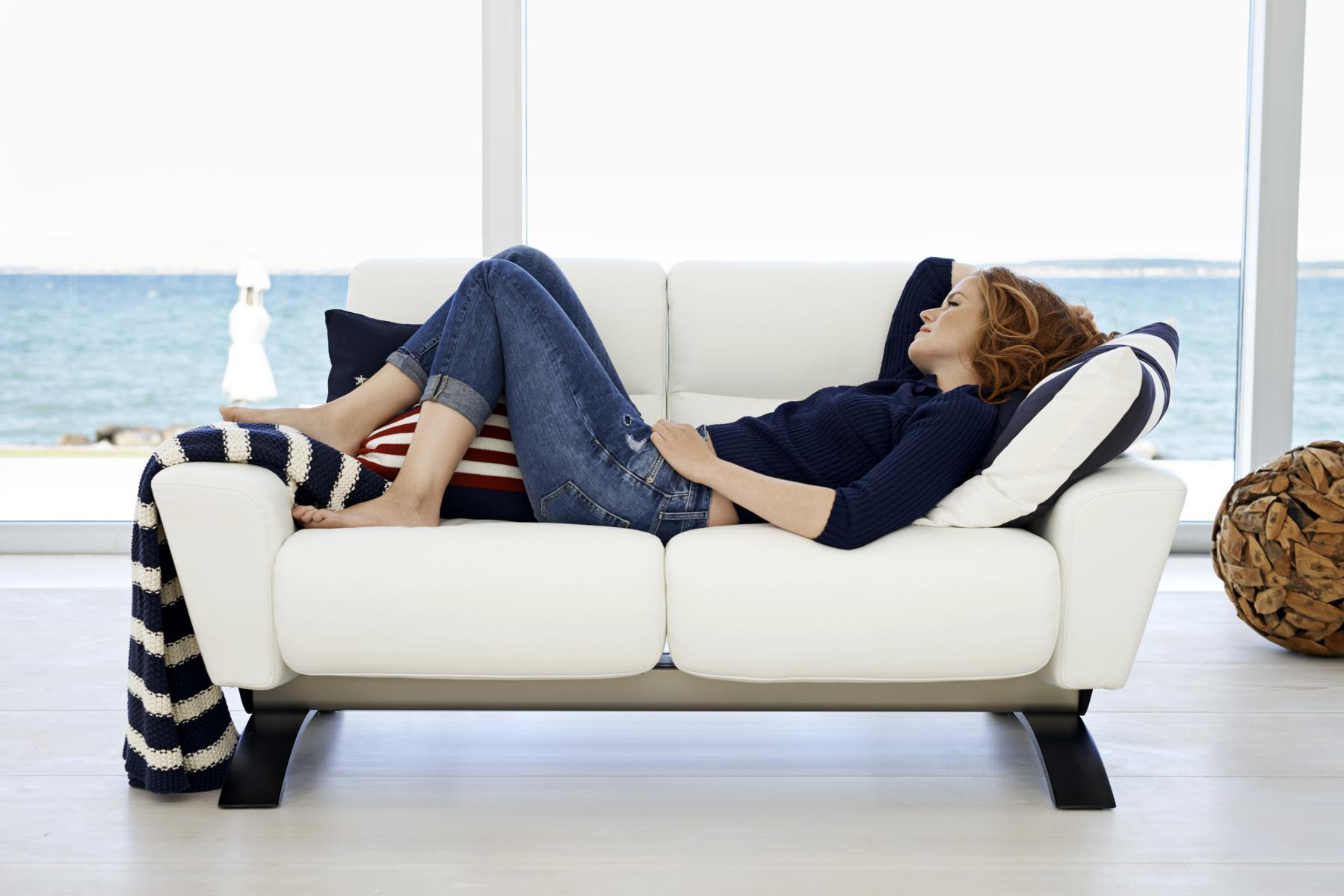 Stressless YOU Julia Zweisitzer #sofa ©Ekornes