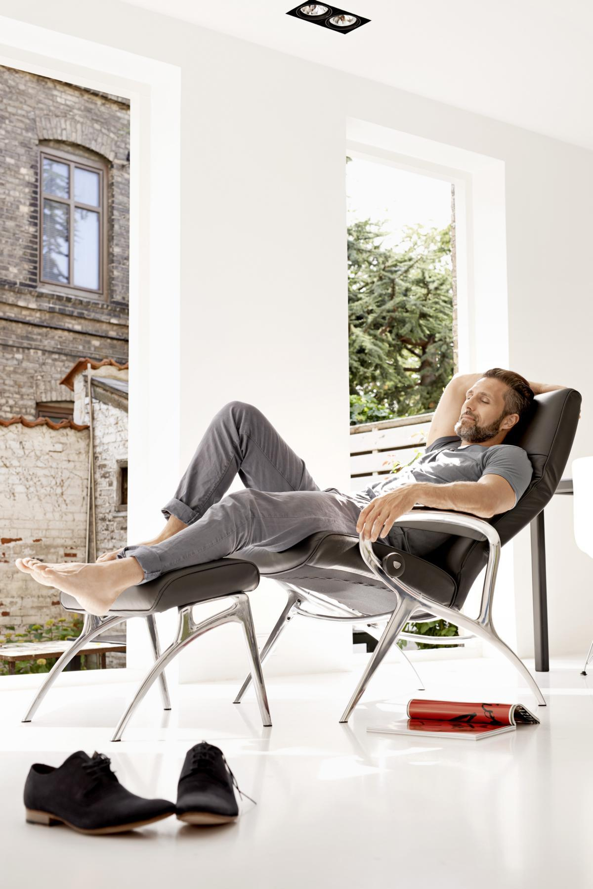 Stressless YOU Michael Aluminium #sessel ©Ekornes