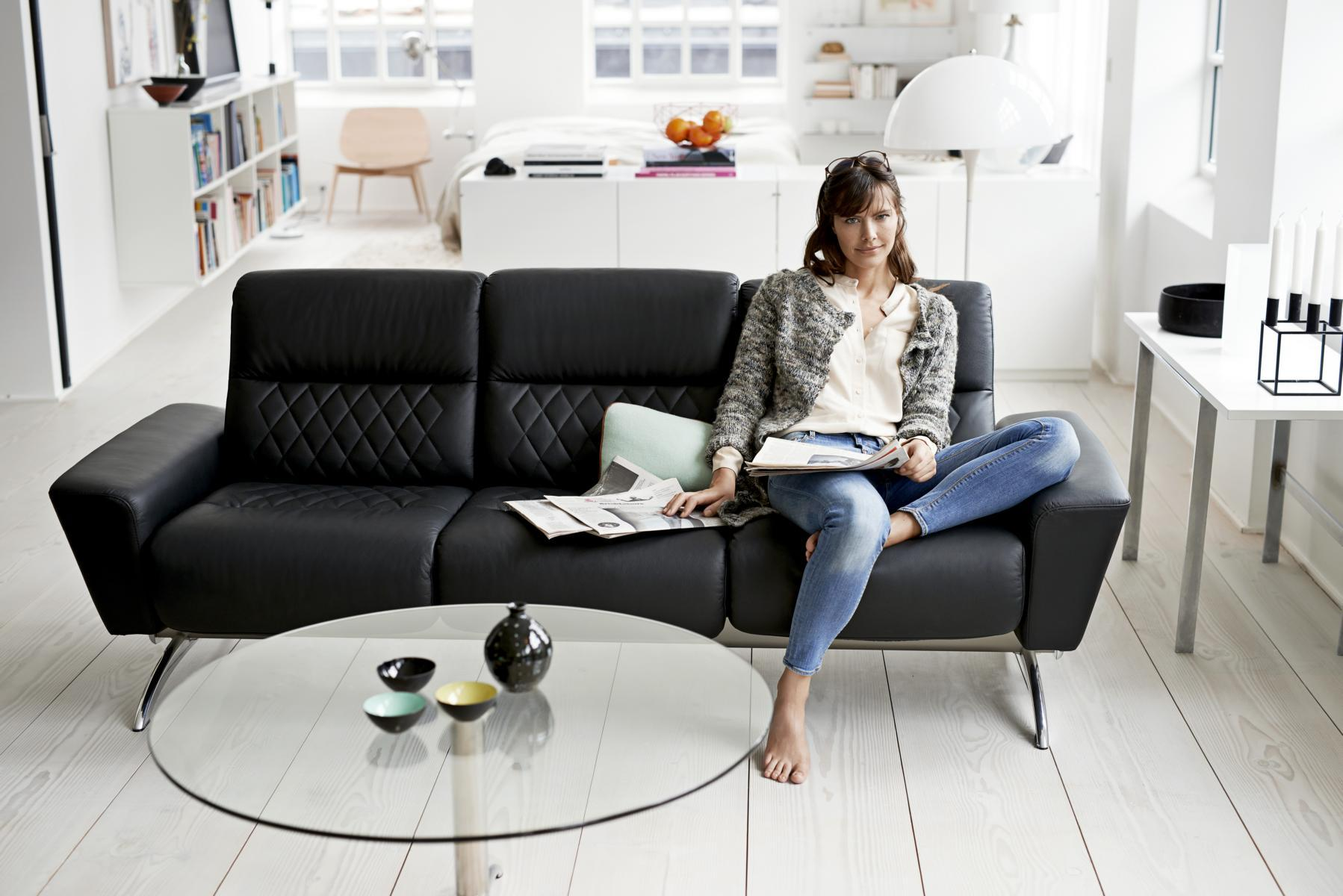 Stressless YOU Michelle Dreisitzer #sofa ©Ekornes