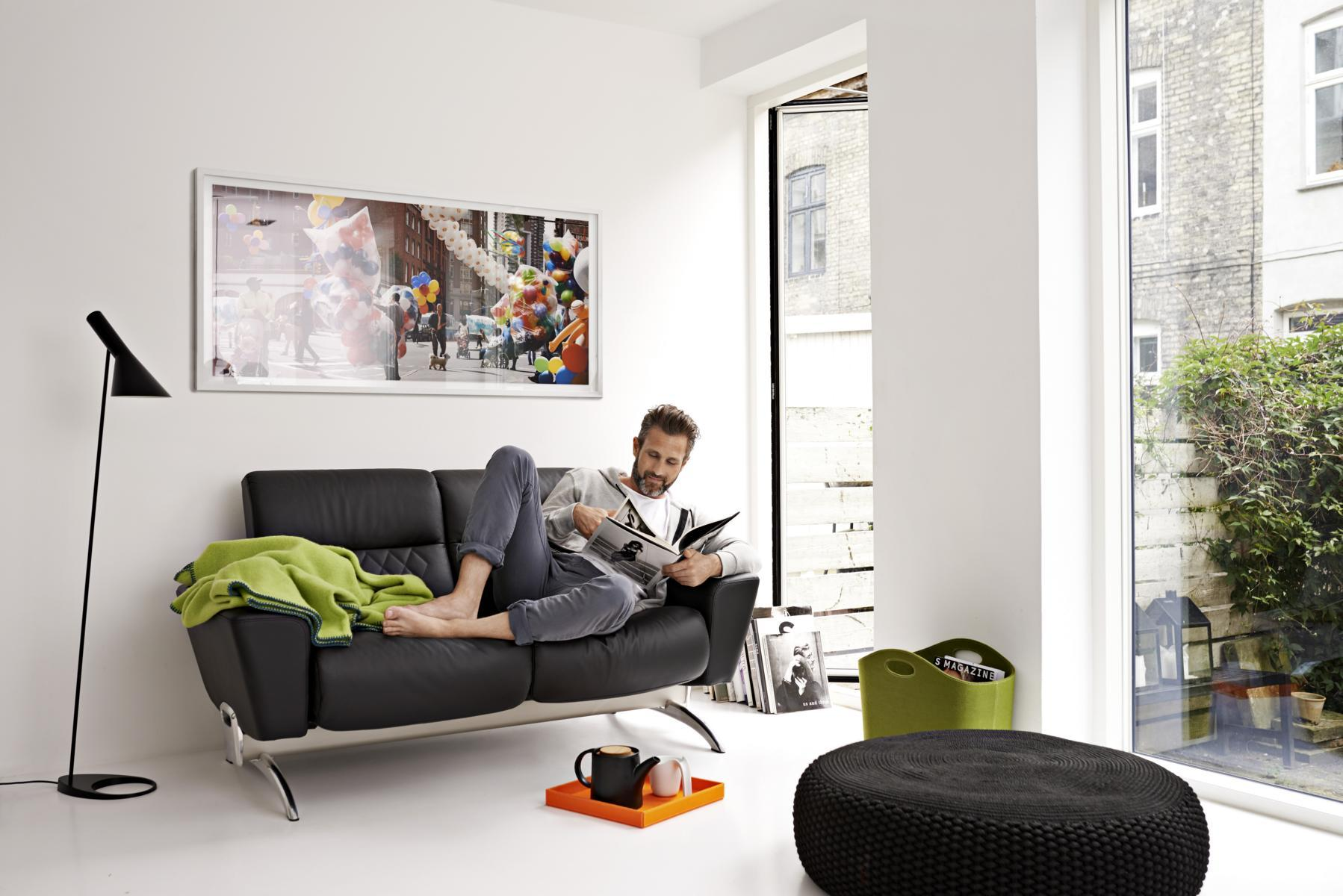 Stressless YOU Michelle Zweisitzer #sofa ©Ekornes