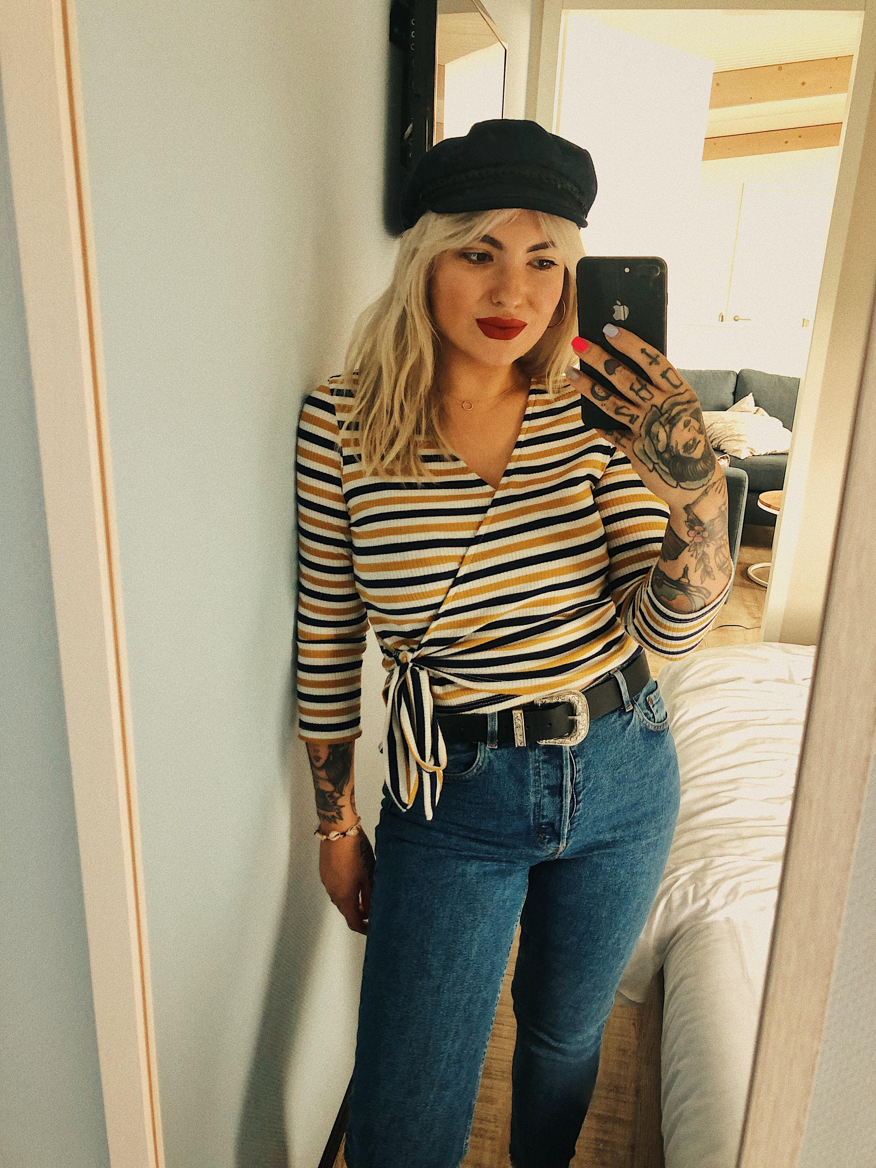STRIPES #fashioncrush #ootd #unterarmtattoo #tattoos