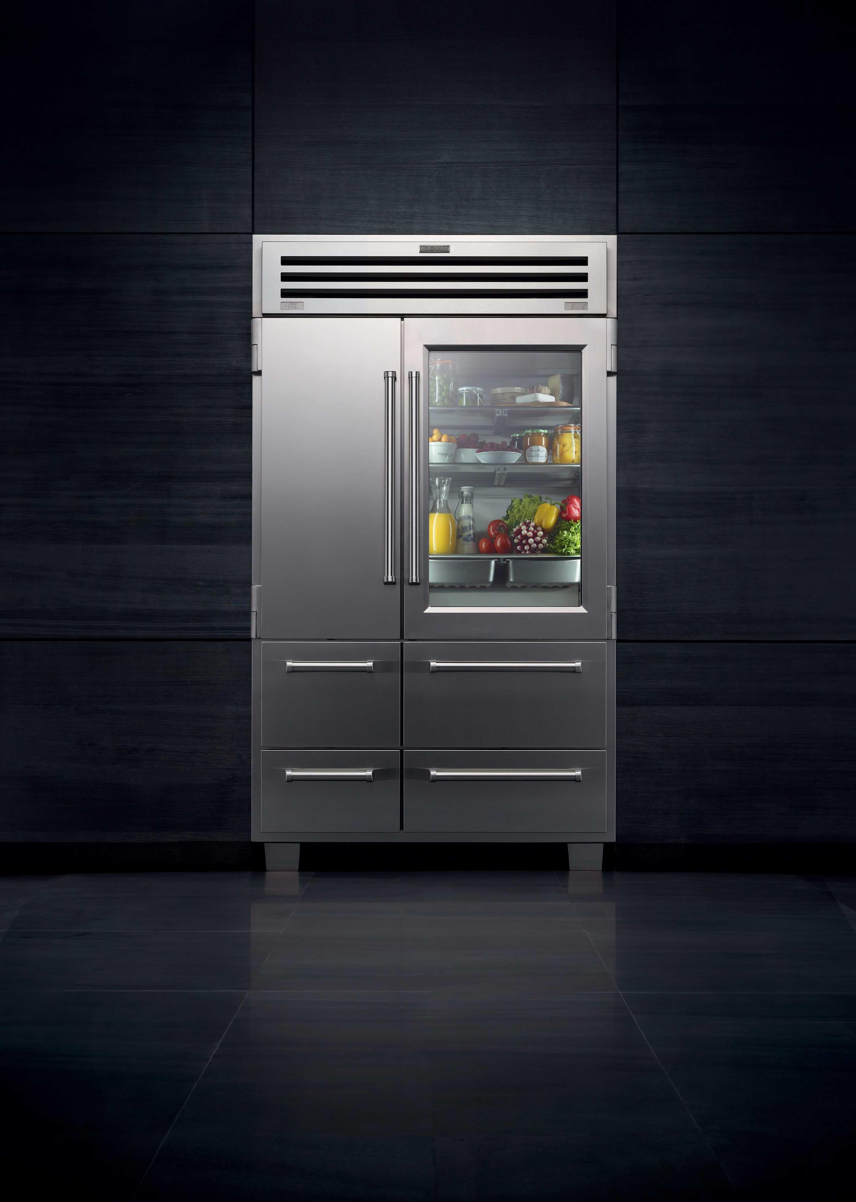 subzero pro 48 kühlgerät küche luxus kühlschrank